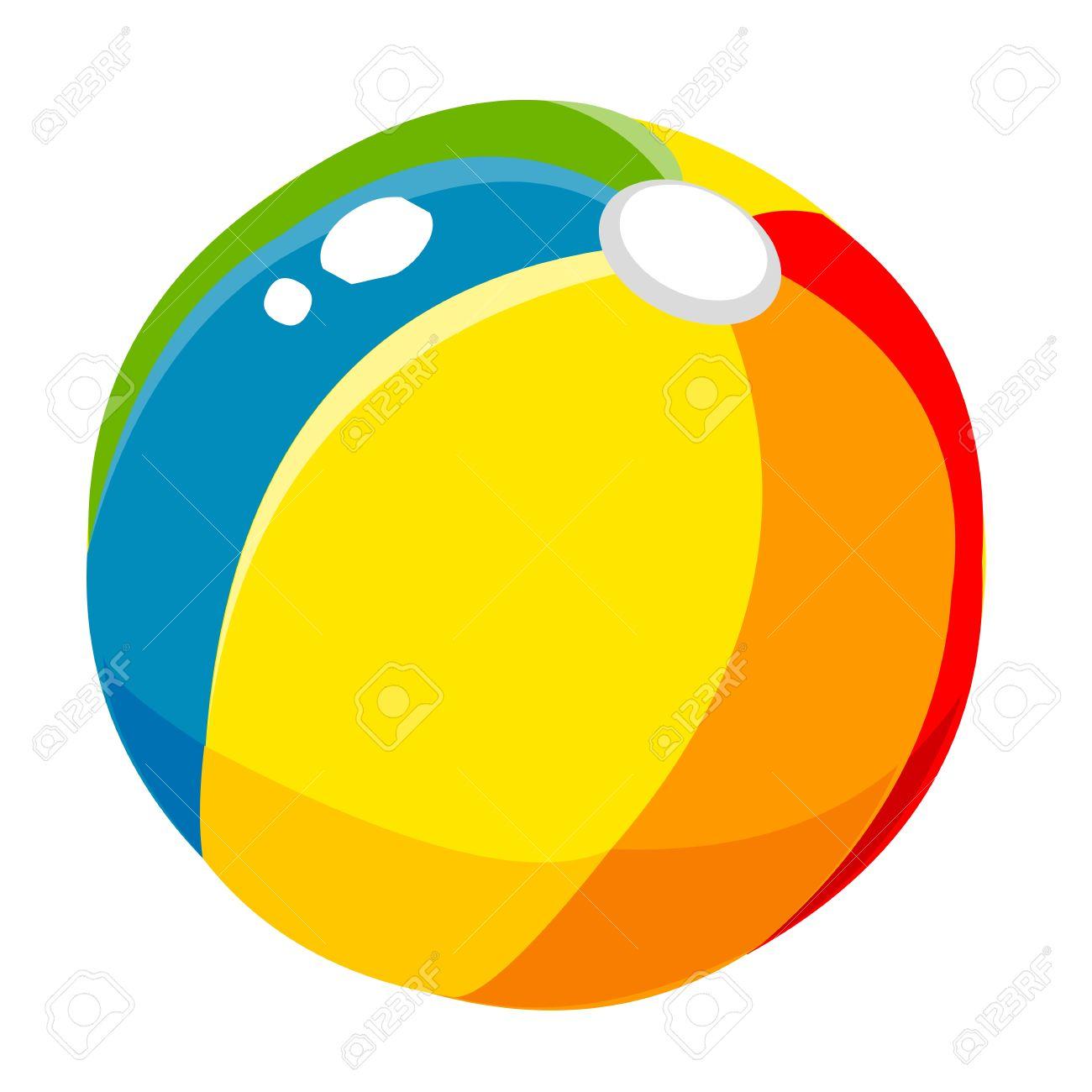 props beach ball cute cartoon royalty free cliparts vectors and rh 123rf com beach ball vector icon beach ball vector icon