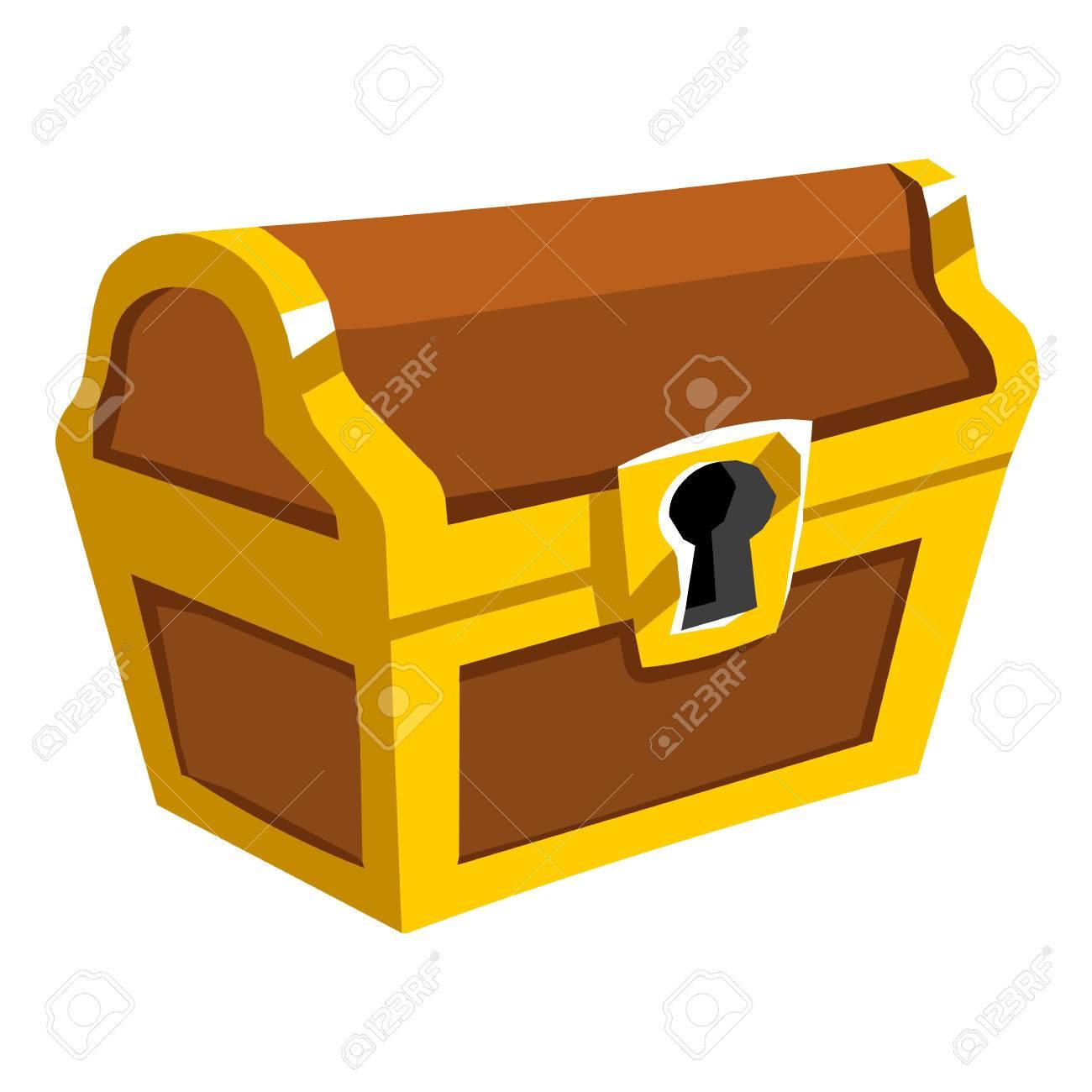 treasure chest isolated illustration on white background royalty rh 123rf com treasure chest vector free download pirate treasure chest vector