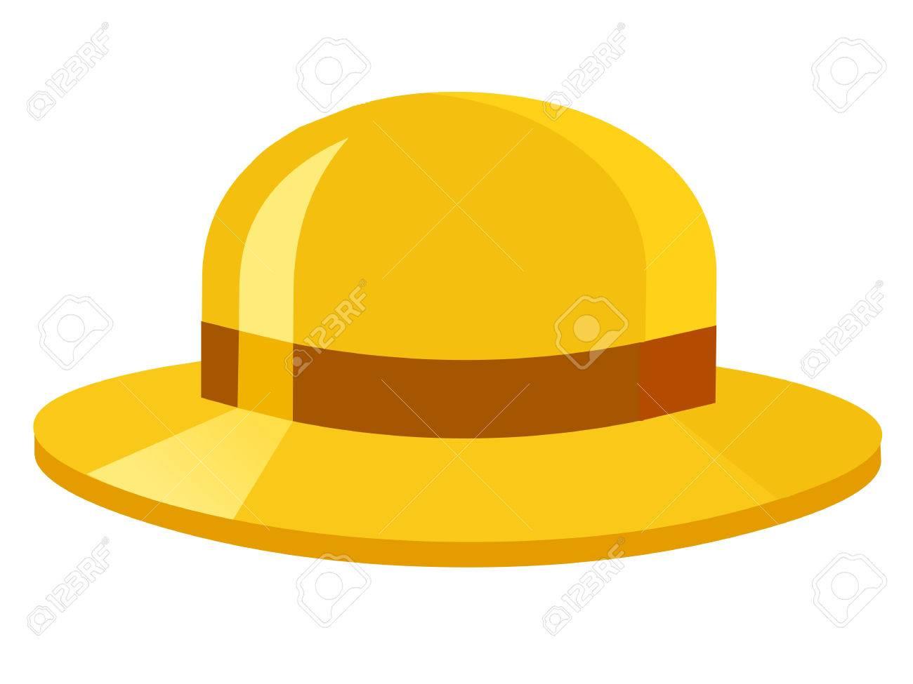 Foto de archivo - Sombrero amarillo 57466d4a363