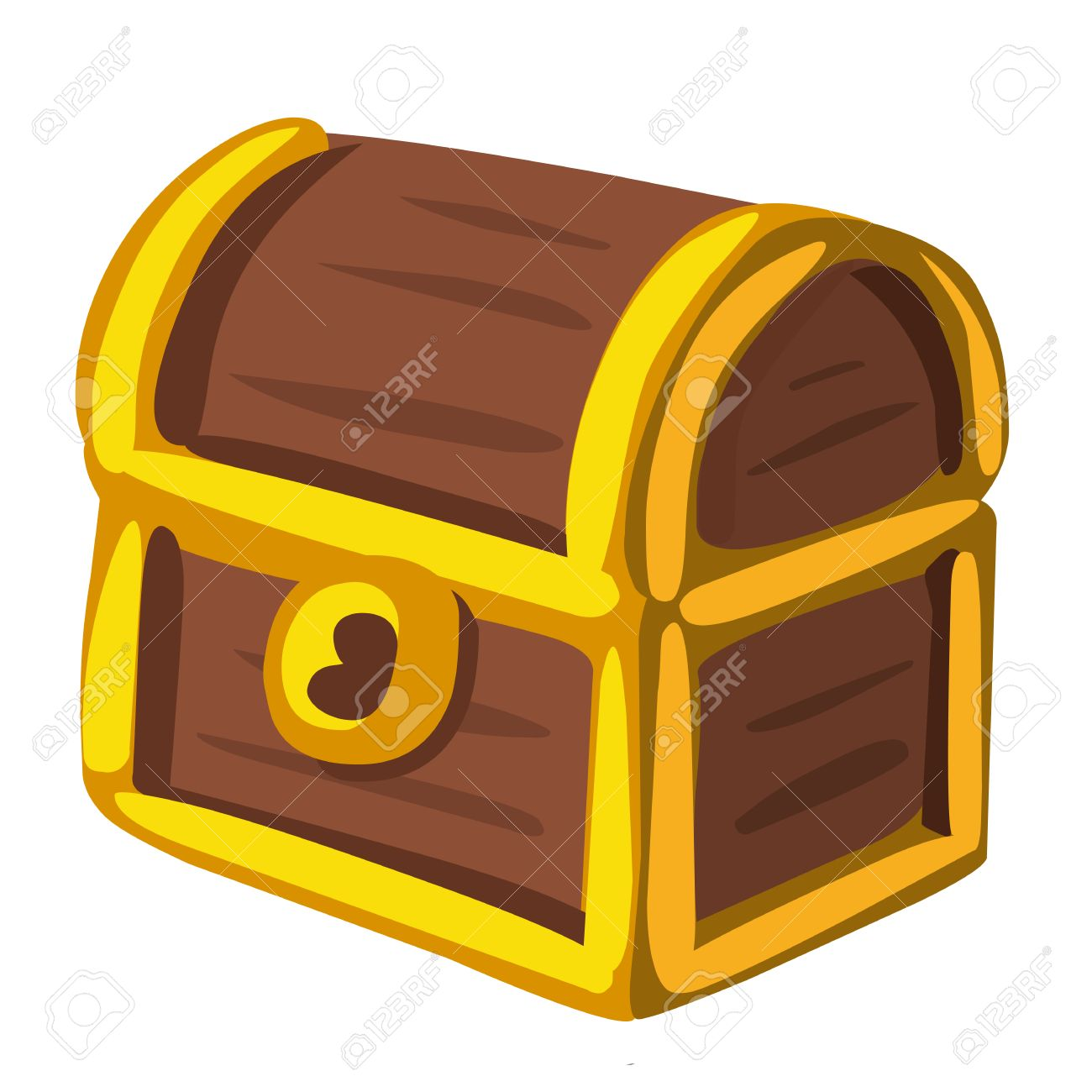 treasure chest isolated illustration on white background royalty rh 123rf com free clipart treasure chest free clipart treasure chest