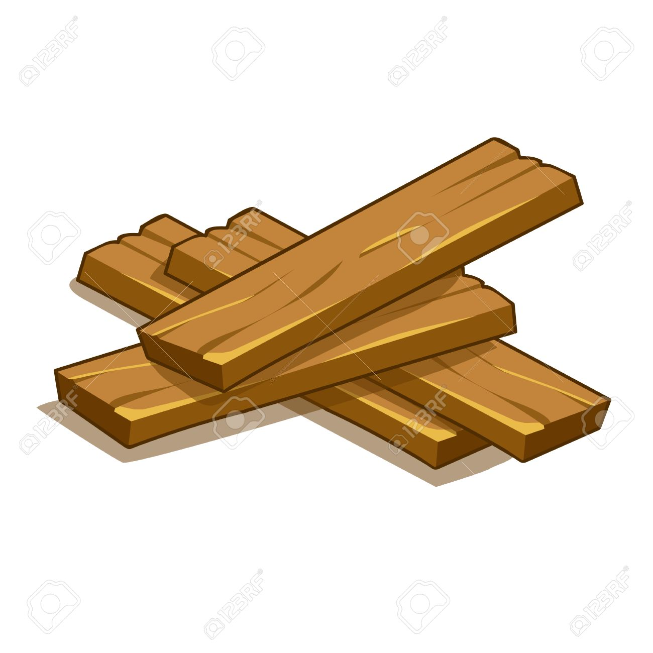 wood planks isolated illustration on white background royalty free rh 123rf com vector wood button vector wood crate