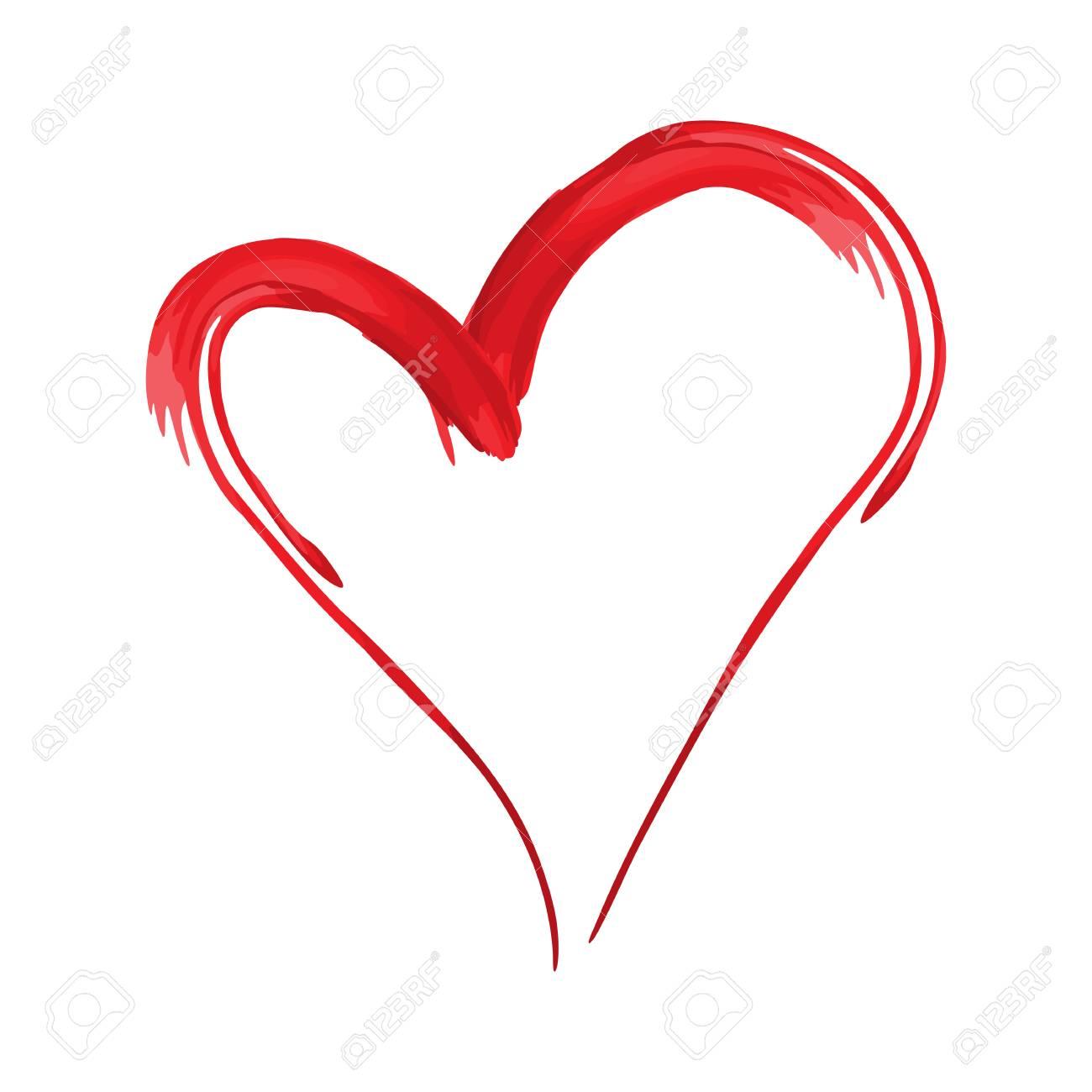 heart shape design for love symbols valentine s day royalty free rh 123rf com vector heart shape illustrator free download vector heart shape illustrator