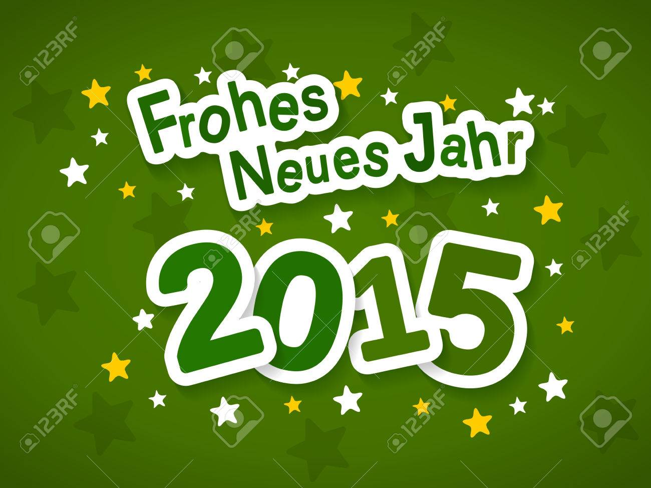 Frohes Neues Jahr Meaning Happy New Year 2015 Greeting In German
