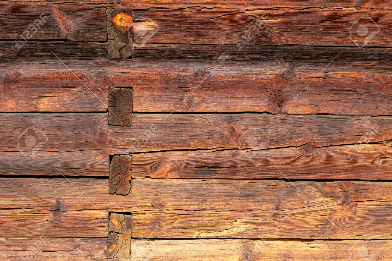 The old wood texture with natural patterns. - 120469748