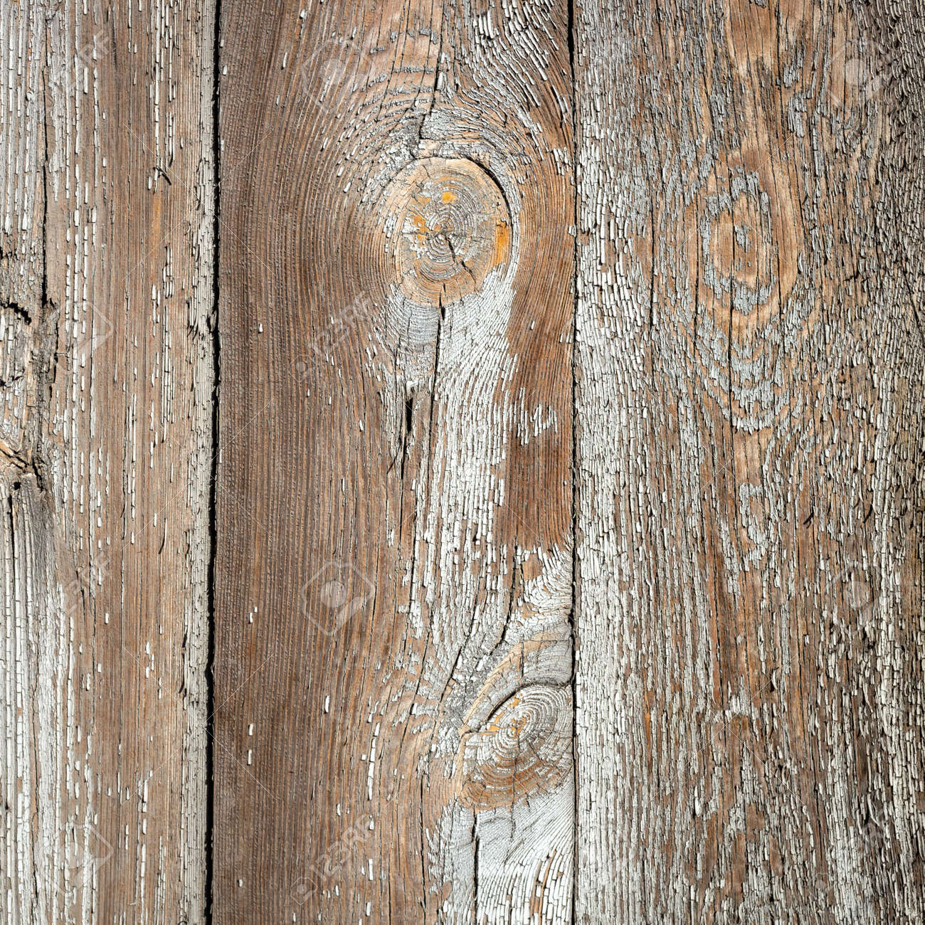 White wood texture with natural patterns background - 156758644