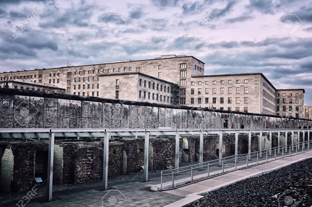 Topography of terror remains of the berlin wall located at topography of terror museum in