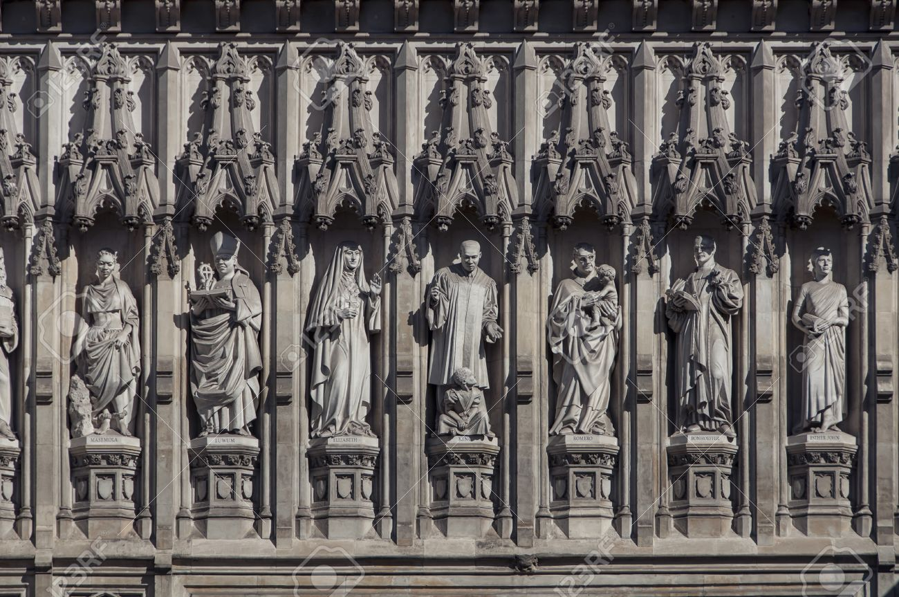 Details of Western facade of Westminster Abbey - Gothic church in London UK. Seven & Details Of Western Facade Of Westminster Abbey - Gothic Church ... Pezcame.Com