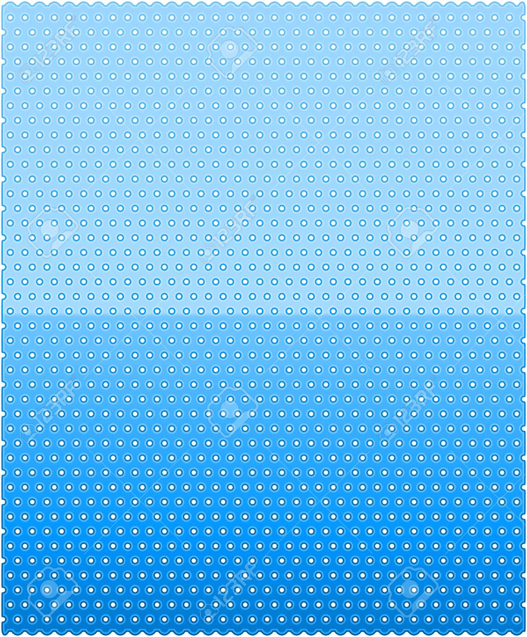 blue dotted pattern Stock Vector - 17428990