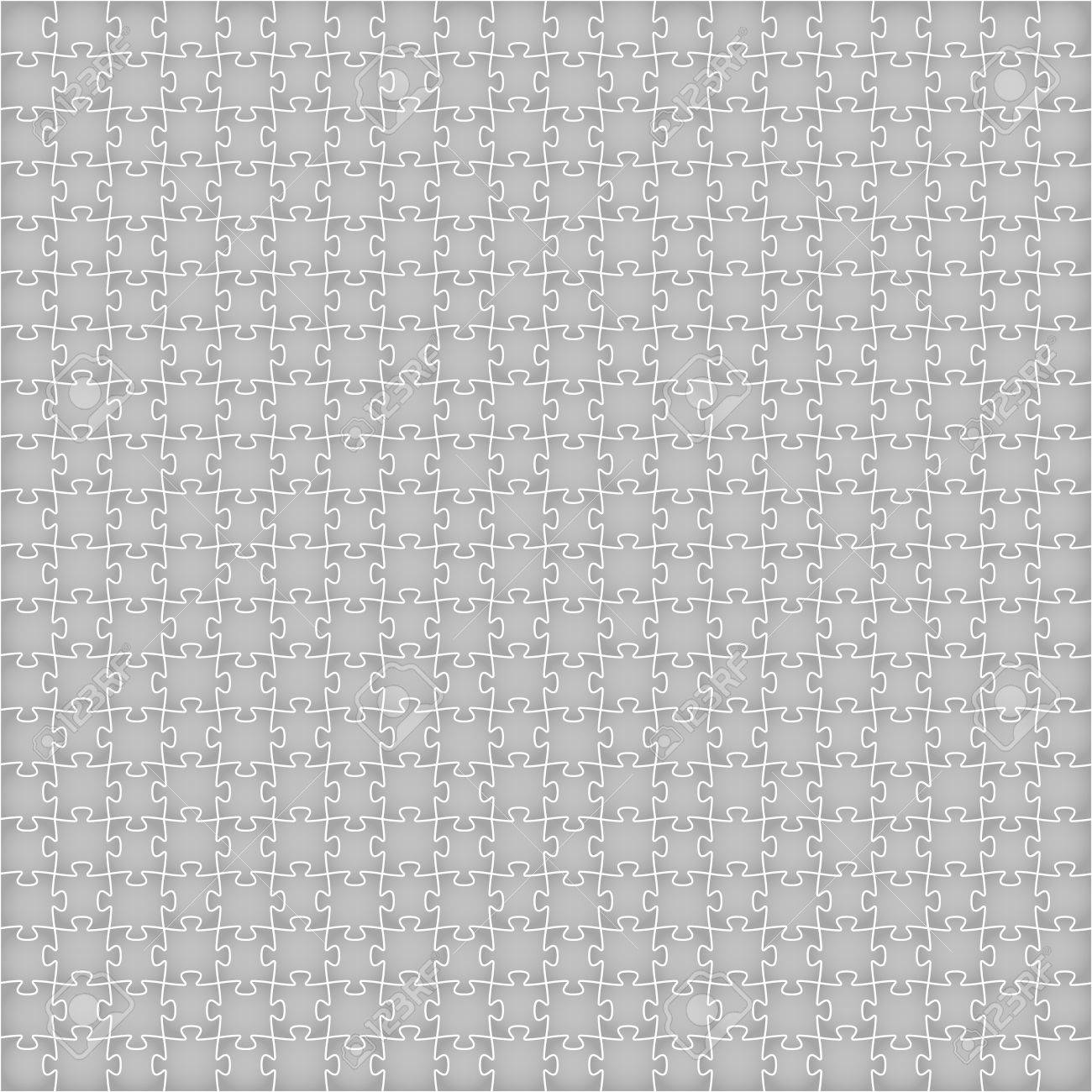 Simple Background Made Out Of Grey Puzzle Pieces Grey Puzzle ...
