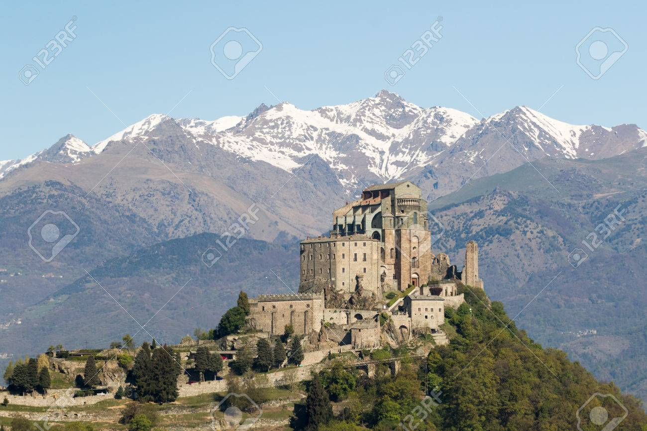 The Sacra Di San Michele (Saint Michael Abbey)