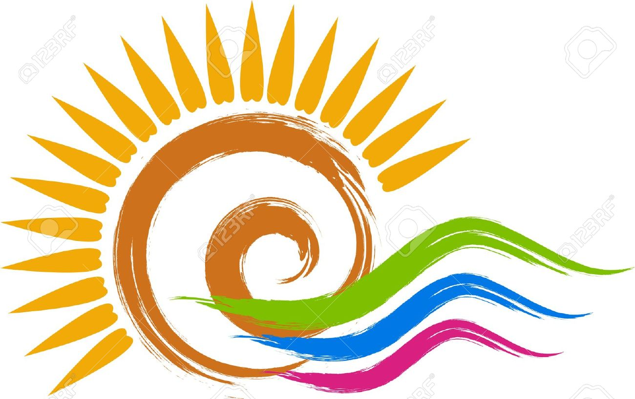 Illustration art of a swirl sun logo with isolated background illustration art of a swirl sun logo with isolated background stock vector 20853183 buycottarizona Images