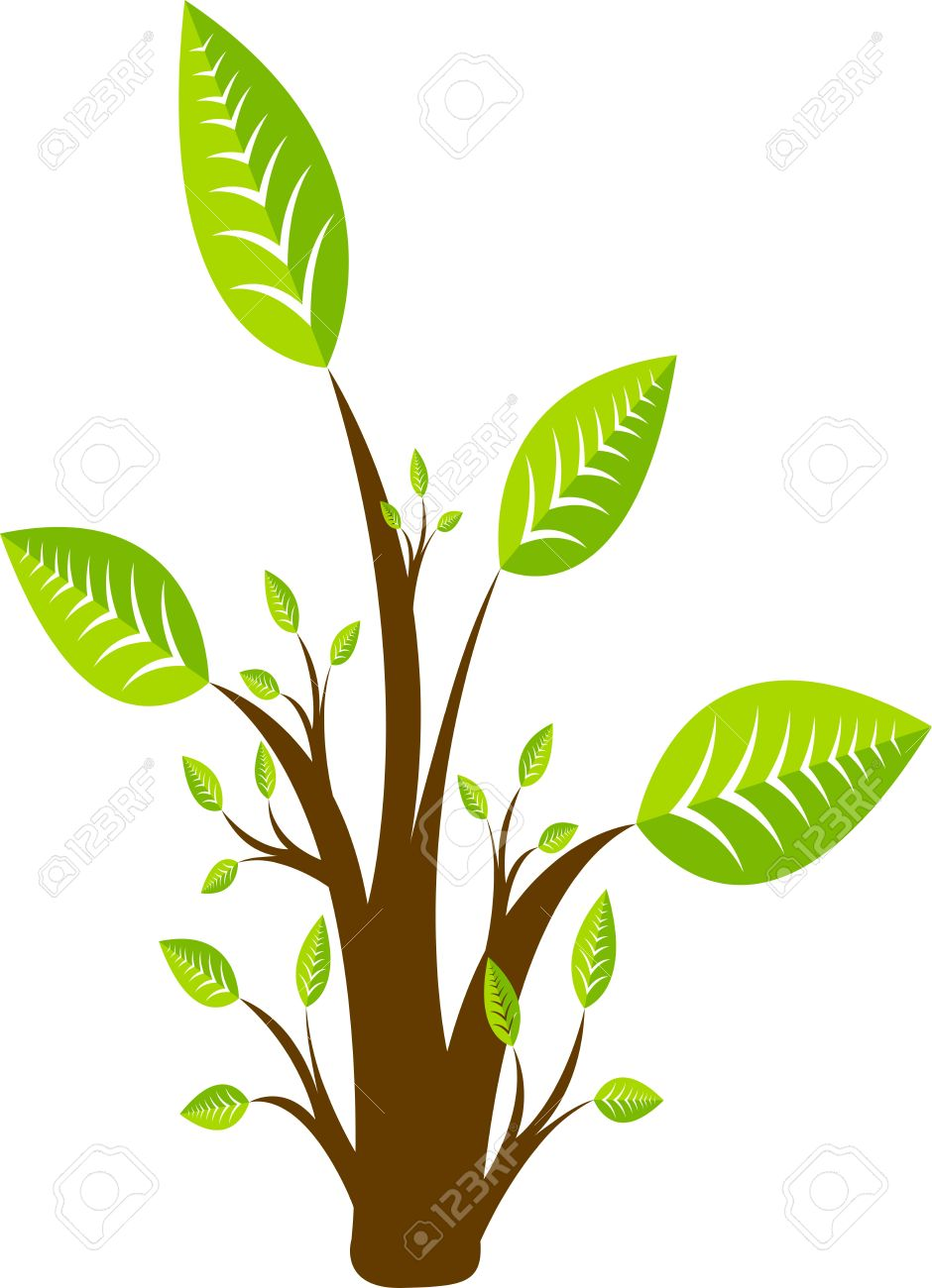 Illustration art of a tree with isolated background Stock Vector - 21739318