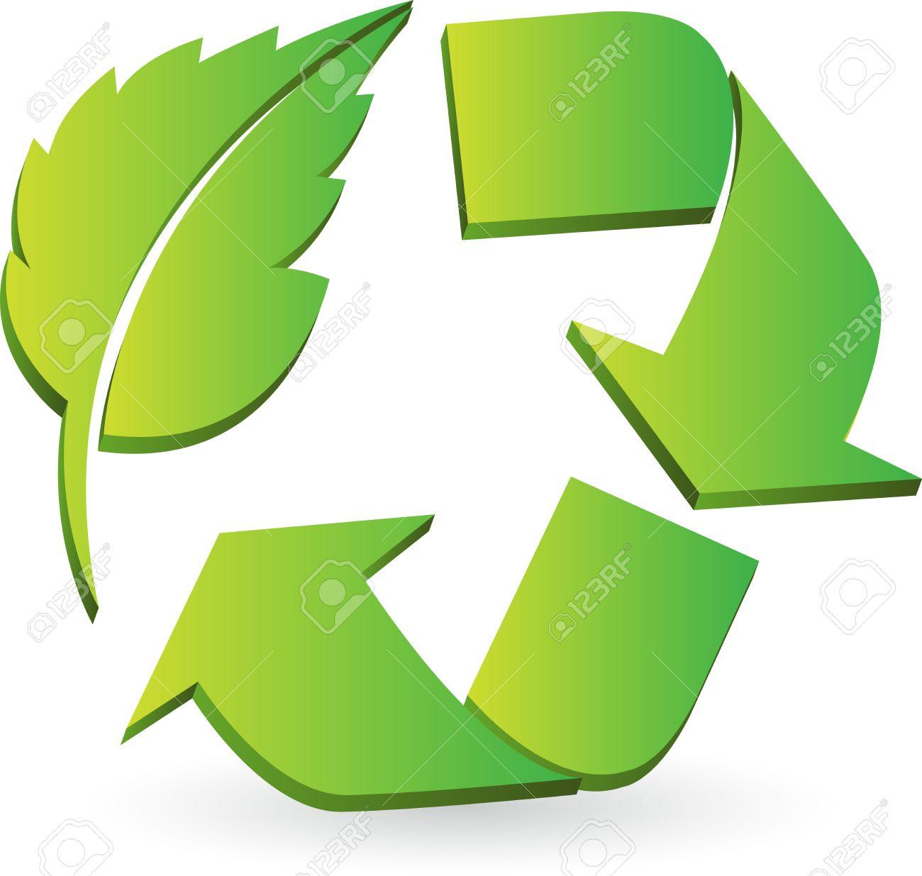Le symbole ou le logo du recyclage