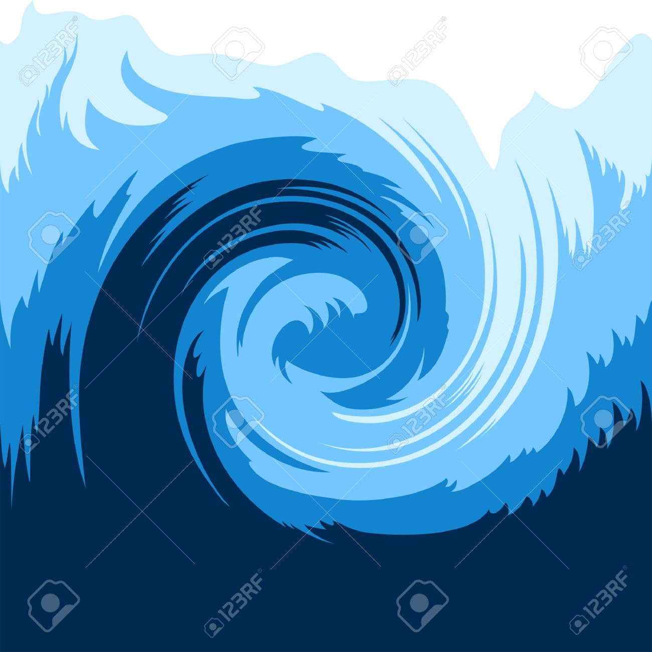 Ocean wave seamless background Stock Vector - 11992817