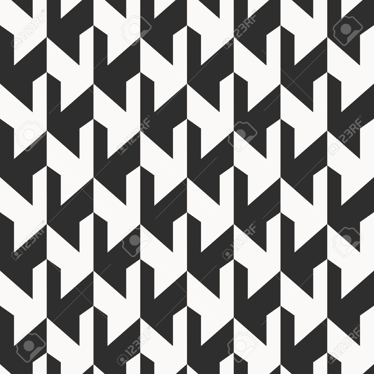 Monochrome background, abstract seamless pattern Stock Vector - 15374237