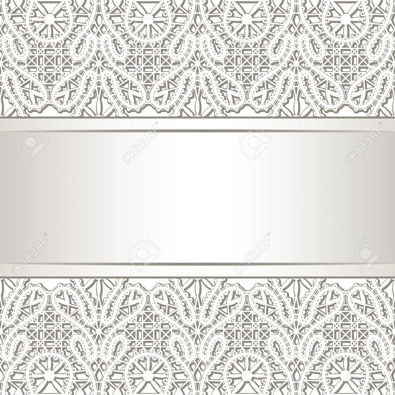 Realistic lace background Stock Vector - 16460526