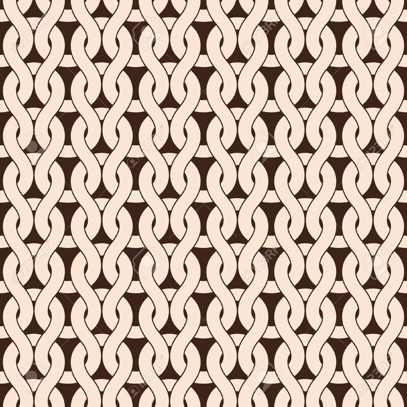 Knitted Seamless Pattern In Natural Color Royalty Free Cliparts ...