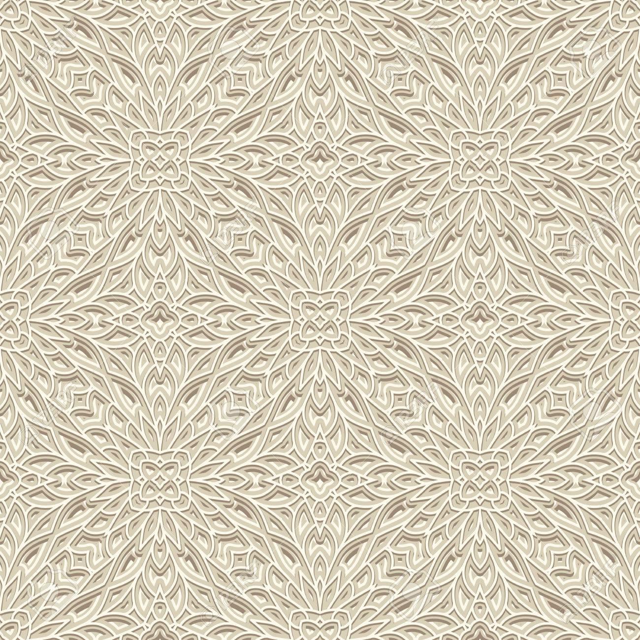Ornamento Blanco De La Vendimia, De Punto O De Ganchillo Textura ...