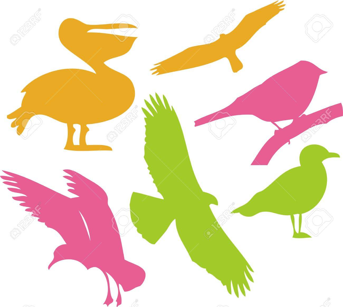 birds vector digital clipart 1 royalty free cliparts vectors and rh 123rf com vector birds love vector birds love
