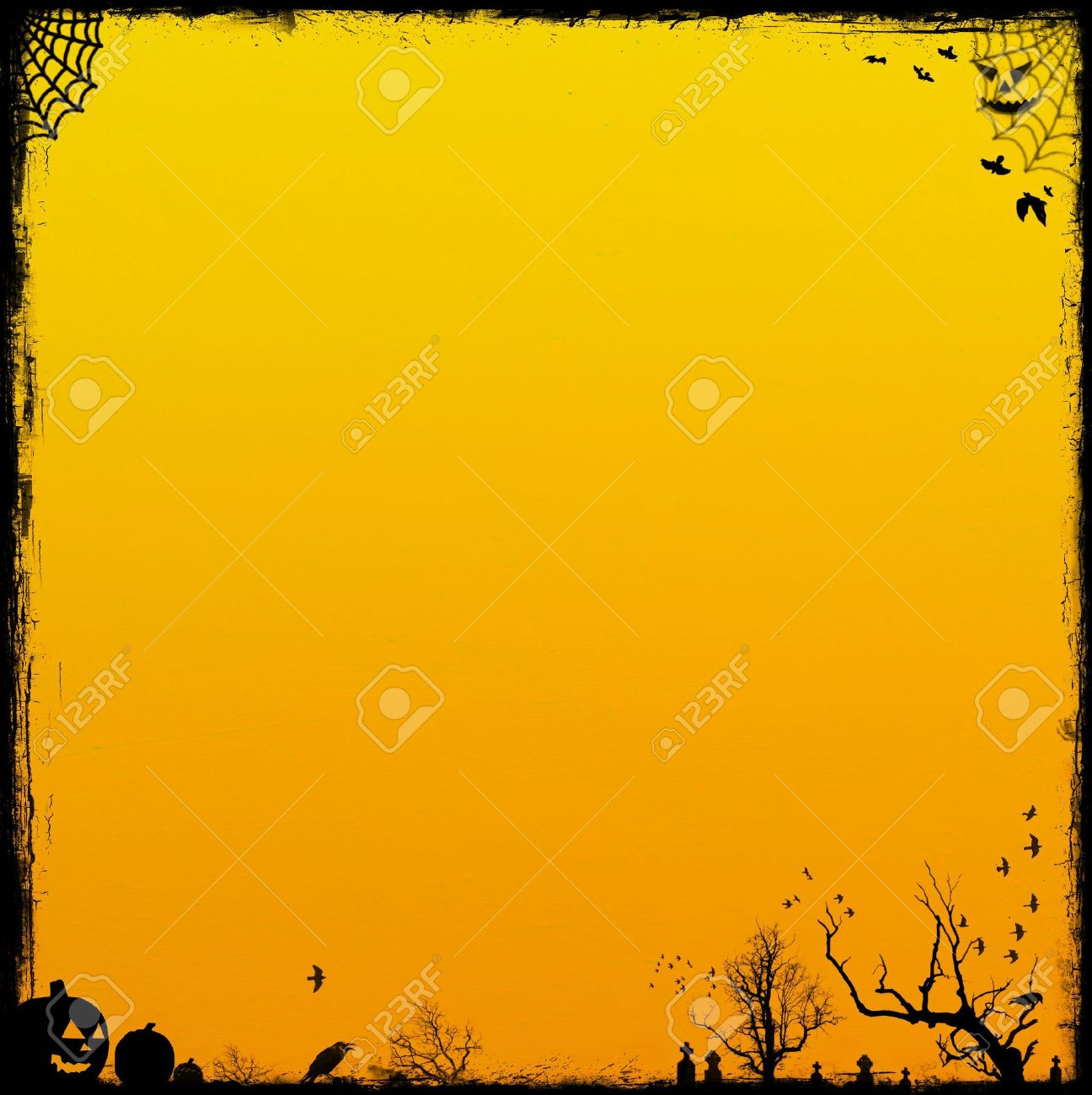 Orange Halloween Background. Halloween Backgrounds Collection ...
