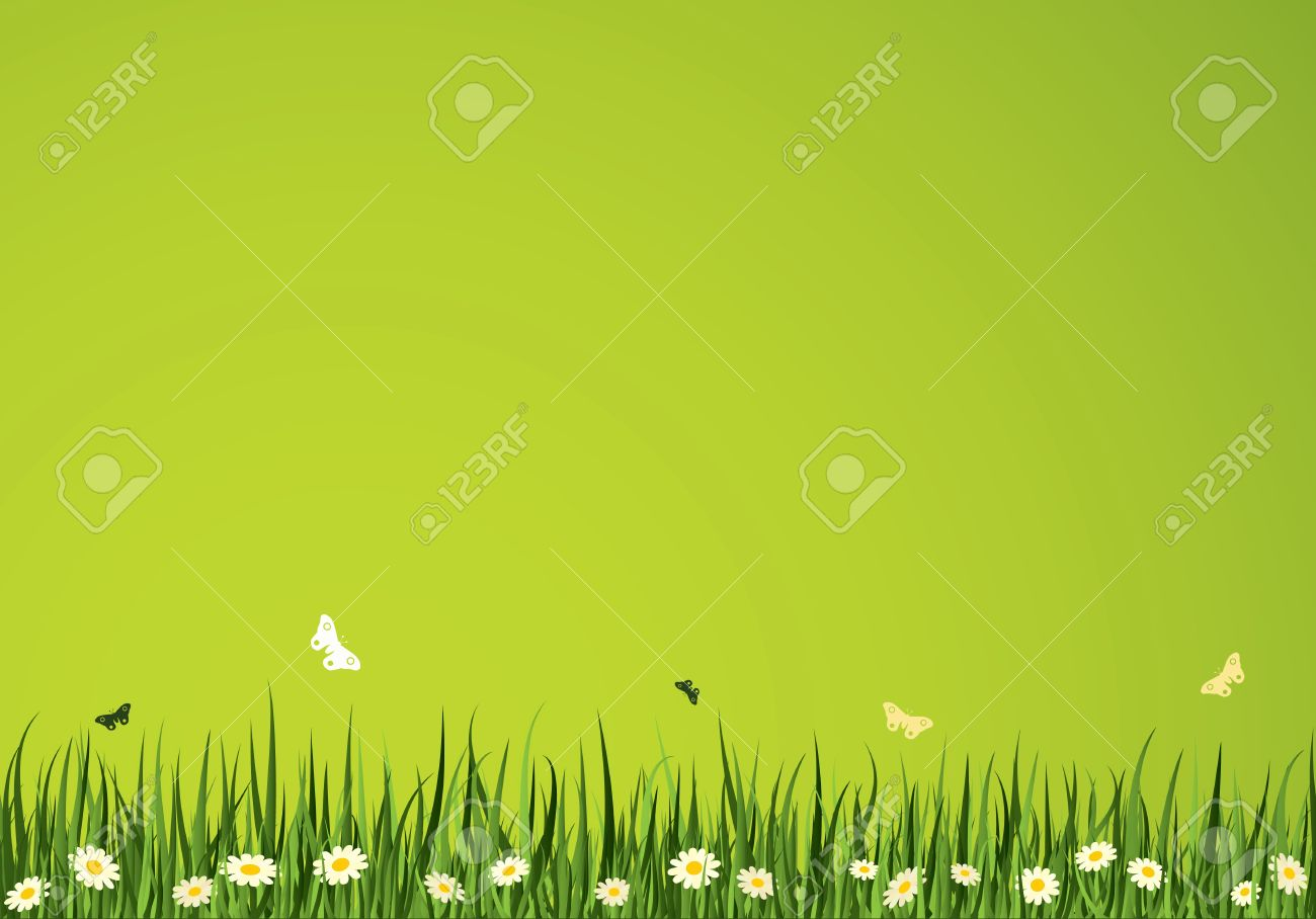 Summer Time Vector Background. Nature Collection. Stock Vector - 4997546