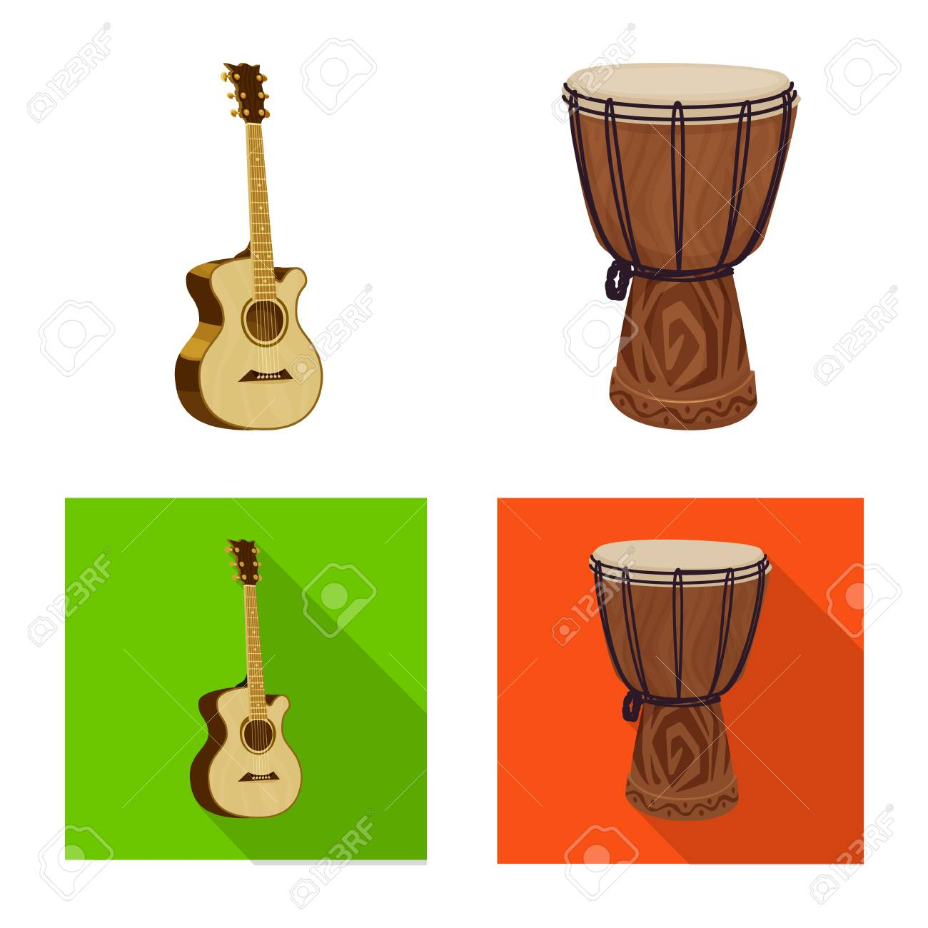 Isolated object of music and tune logo. Collection of music and tool stock symbol for web. - 112936248