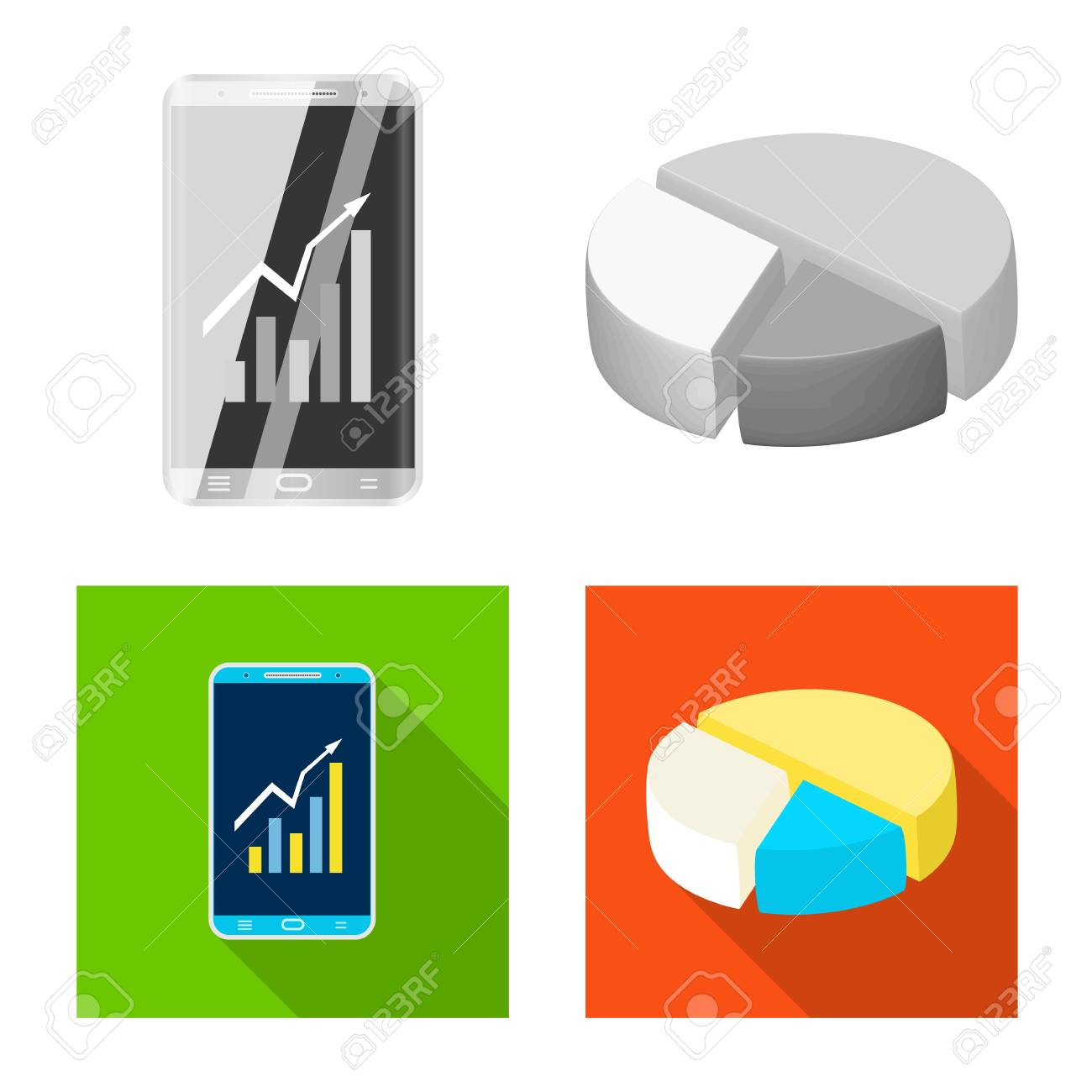 Design On Stock Bank.Vector Design Of Bank And Money Sign Collection Of Bank And