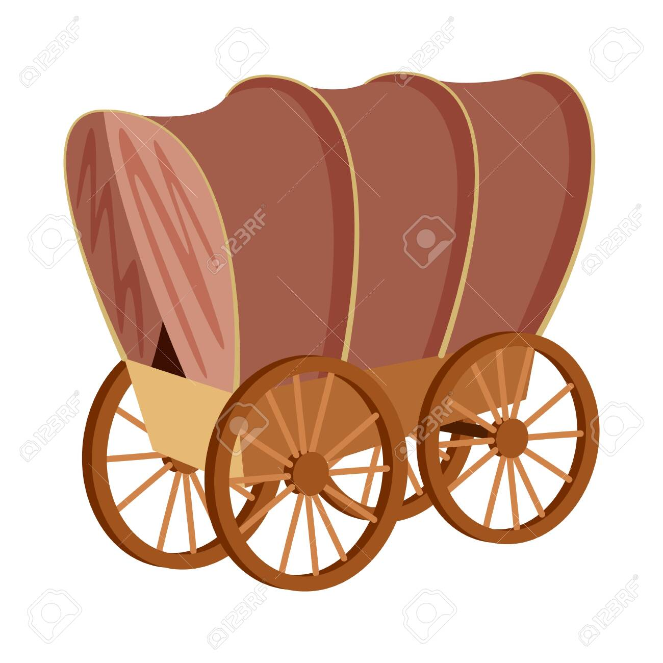 Vector design of stagecoach and wagon icon. Set of stagecoach and ride stock vector illustration. - 123753018