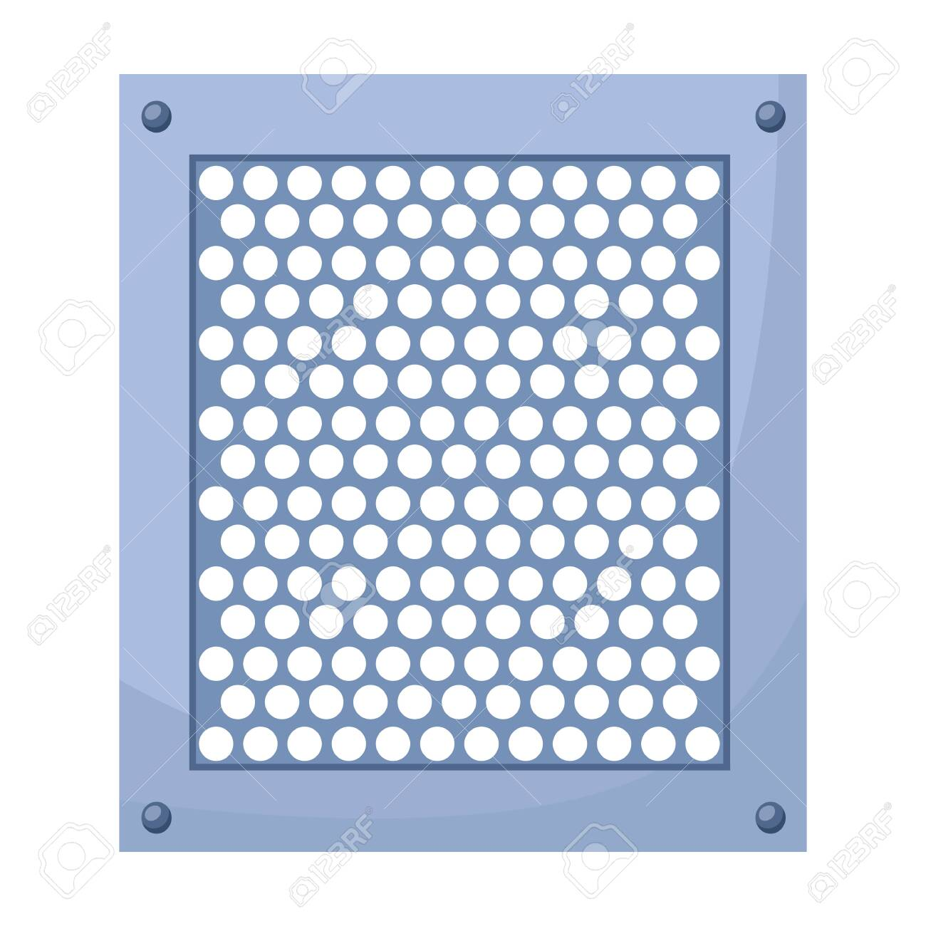 Ventilation grate vector icon.Cartoon vector icon isolated on white background ventilation grate. - 139248357
