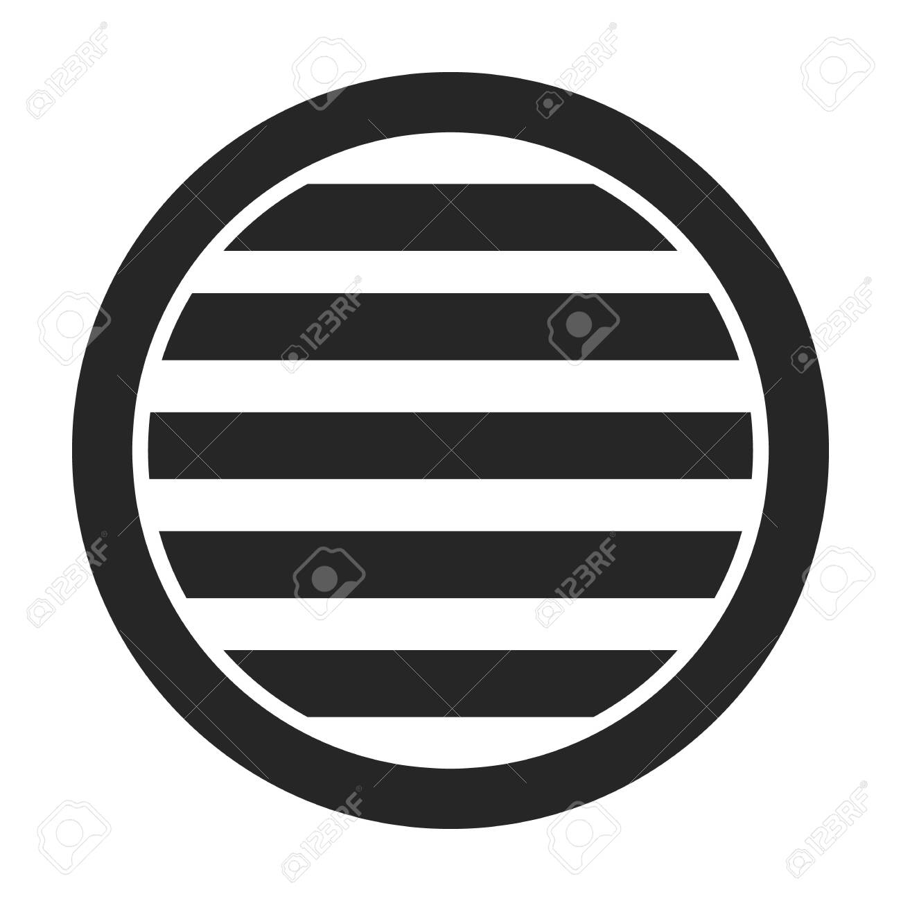 Ventilation grate vector icon.Black,simple vector icon isolated on white background ventilation grate. - 139754834