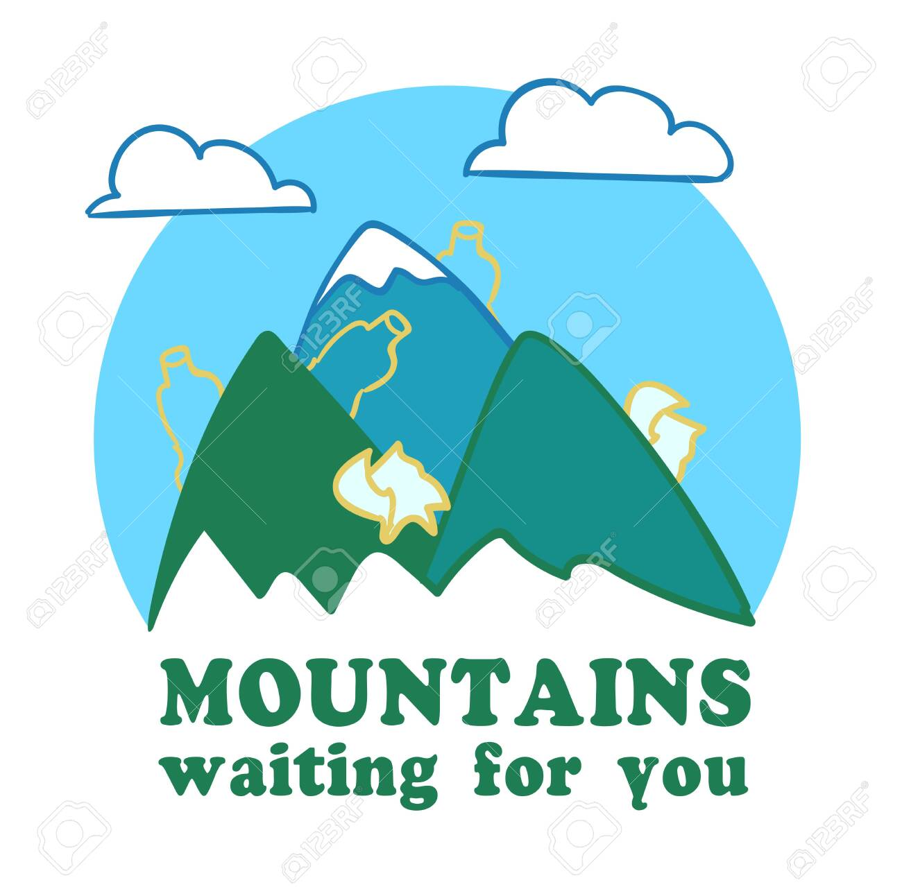 moutains are waiting for you - 147159908
