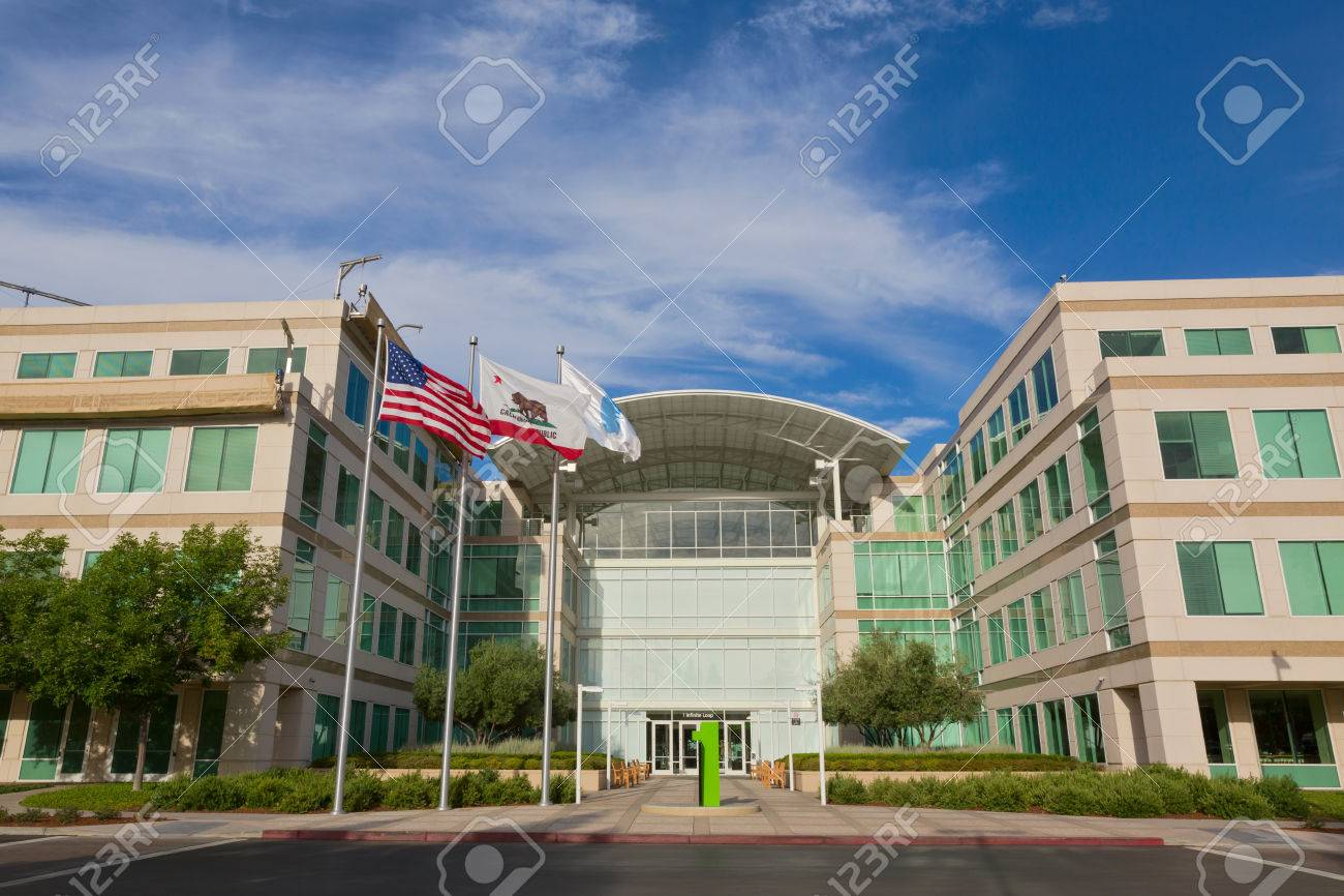 CUPERTINO, CA/USA - JULY 14: The Apple world headquarters located