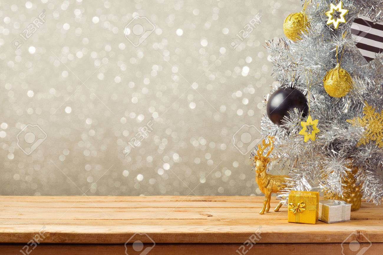 Christmas Holiday Images.Christmas Holiday Background With Christmas Tree And Decorations