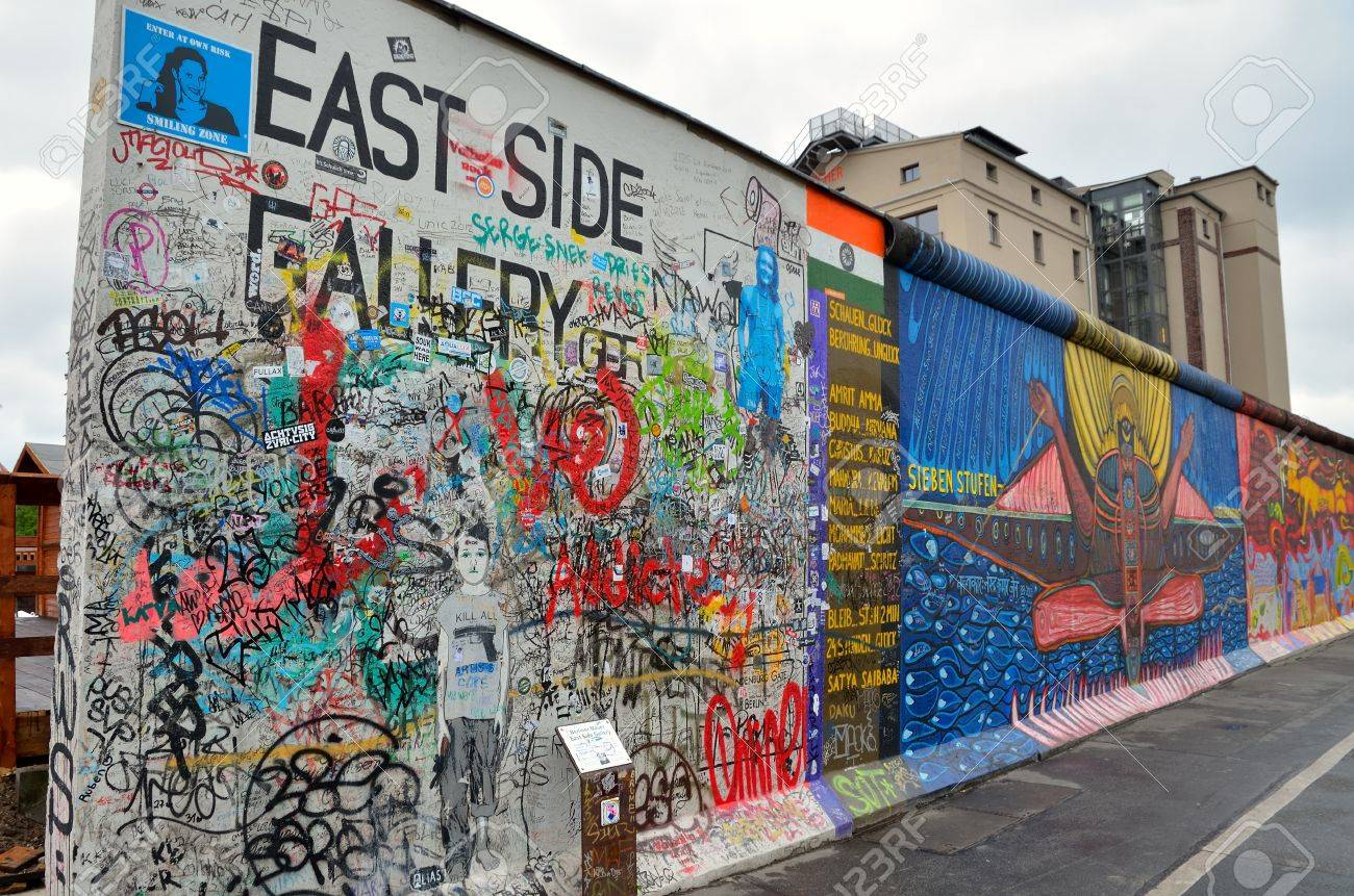 Image result for Images of the Berlin wall 2014