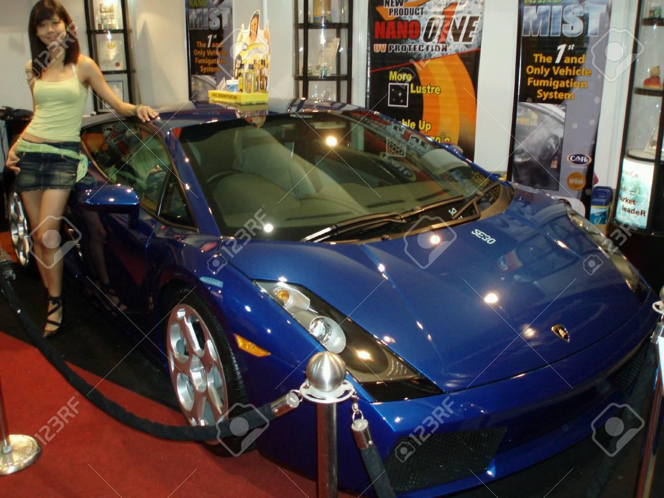 Kuala Lumpur Malaysia May 31 Lamborghini Gallardo Displayed