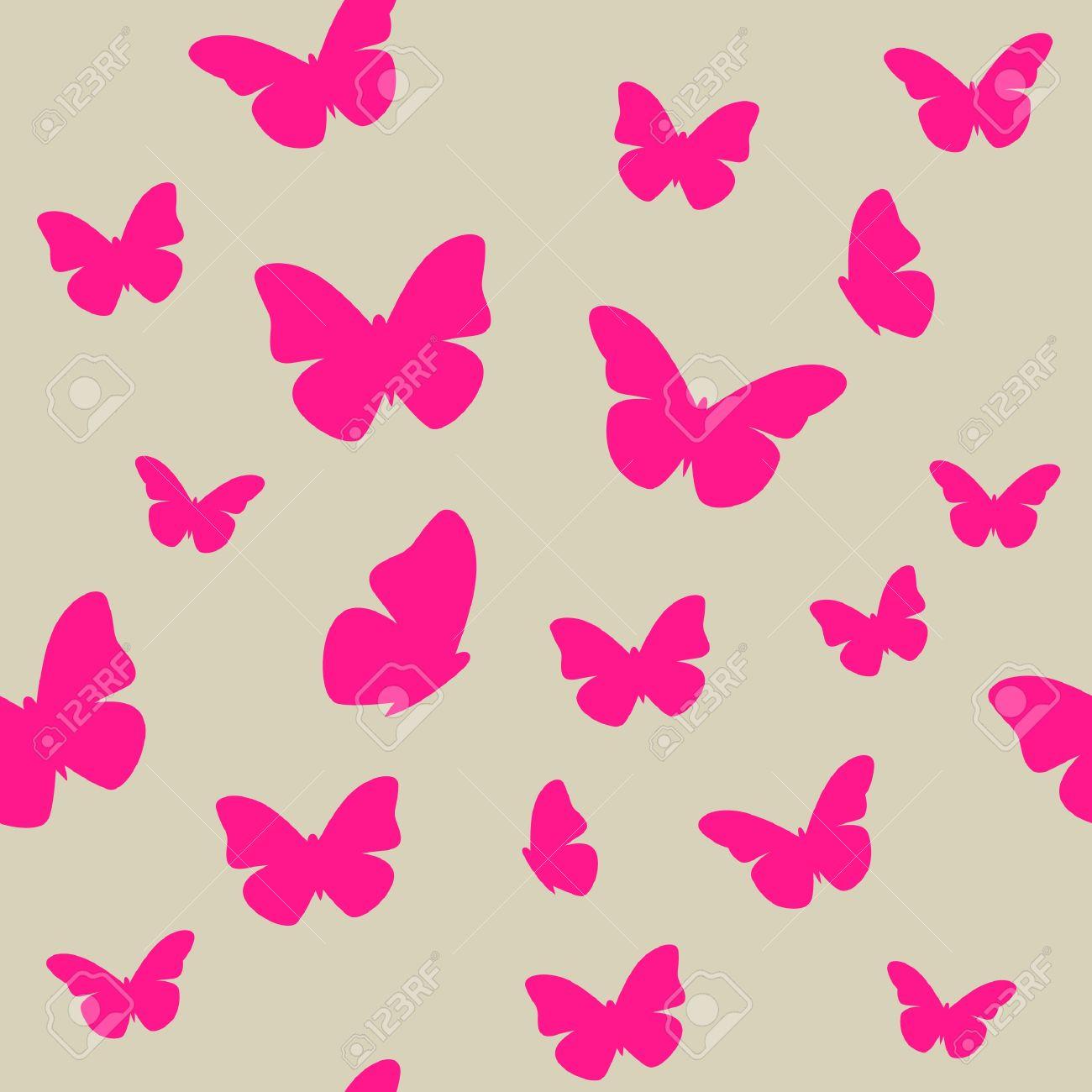 http://previews.123rf.com/images/magnia/magnia1209/magnia120900067/15094332-Papillon-rose-sur-fond-beige-motif-transparente-Banque-d%27images.jpg