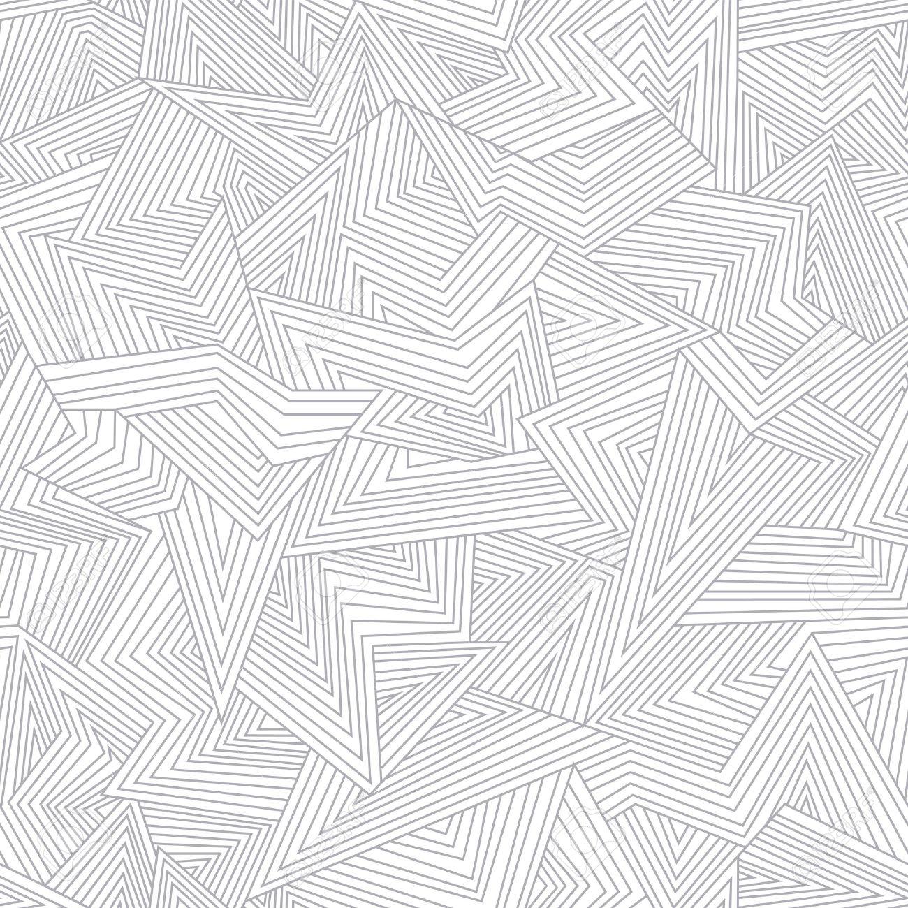 Seamless abstract pattern. Broken lines. Stock Vector - 15135047