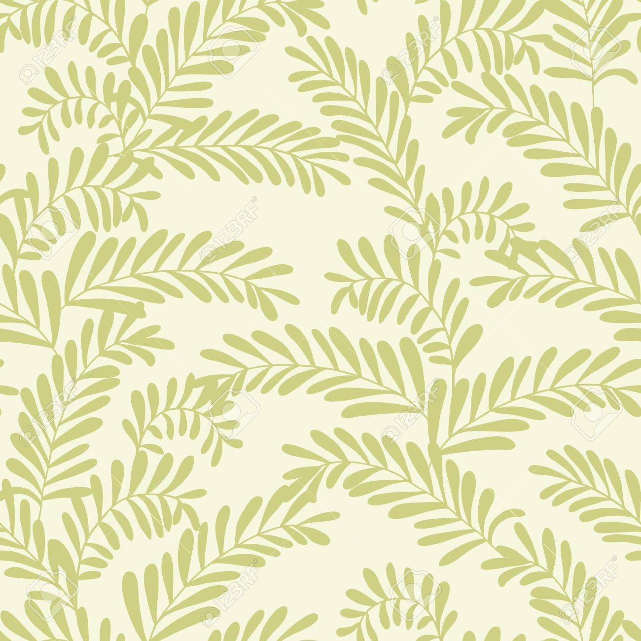 Beautiful seamless pattern with olive branches Stock Vector - 17723839