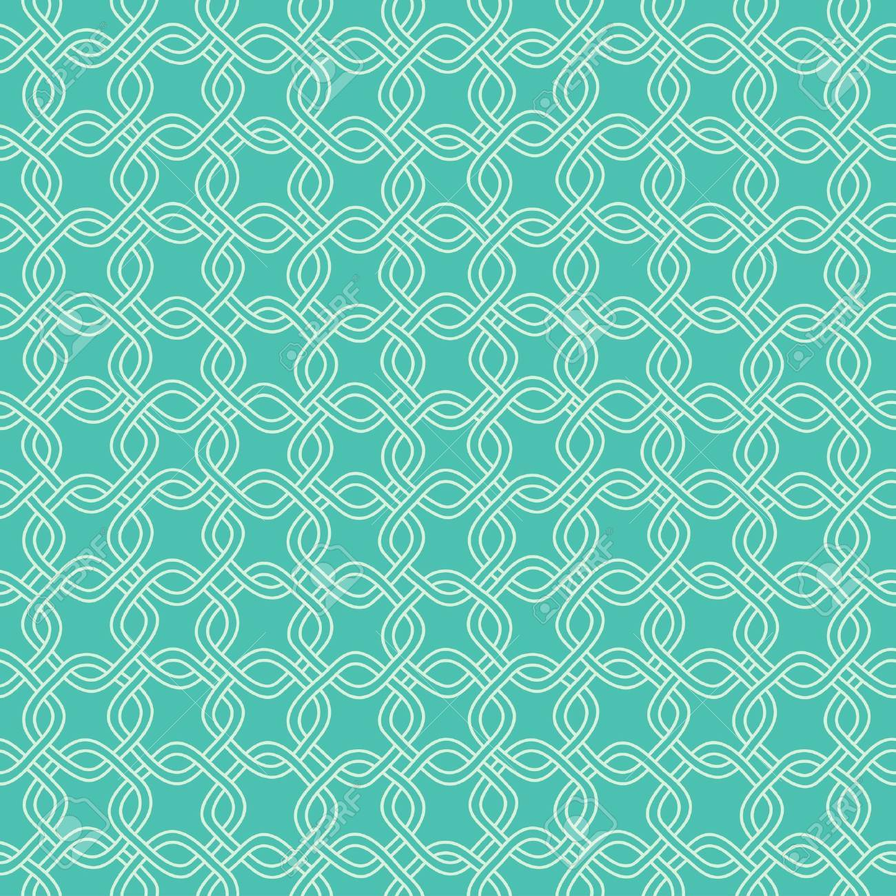 Seamless hand drawn pattern with chains  Vector Stock Photo - 18534612