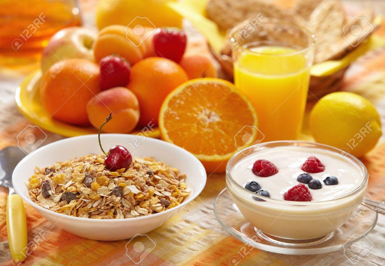 healthy breakfast Stock Photo - 7132064