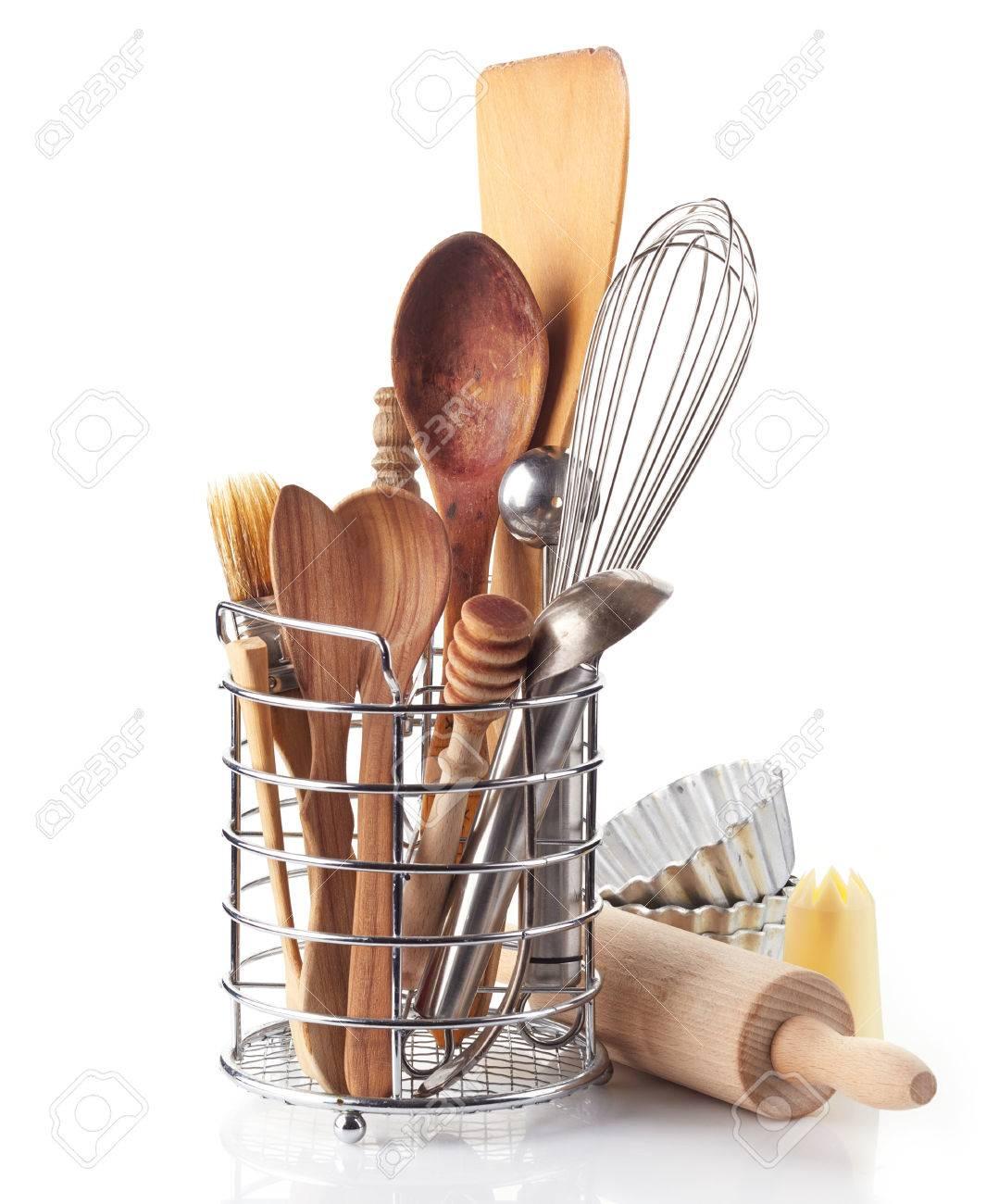 kitchen utensils on a white background - 31468339