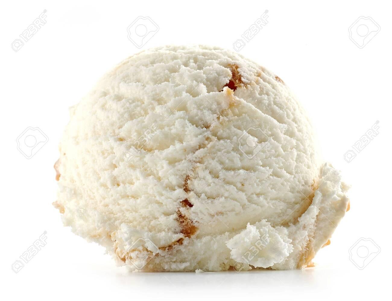 ice cream isolated on white background - 124227957