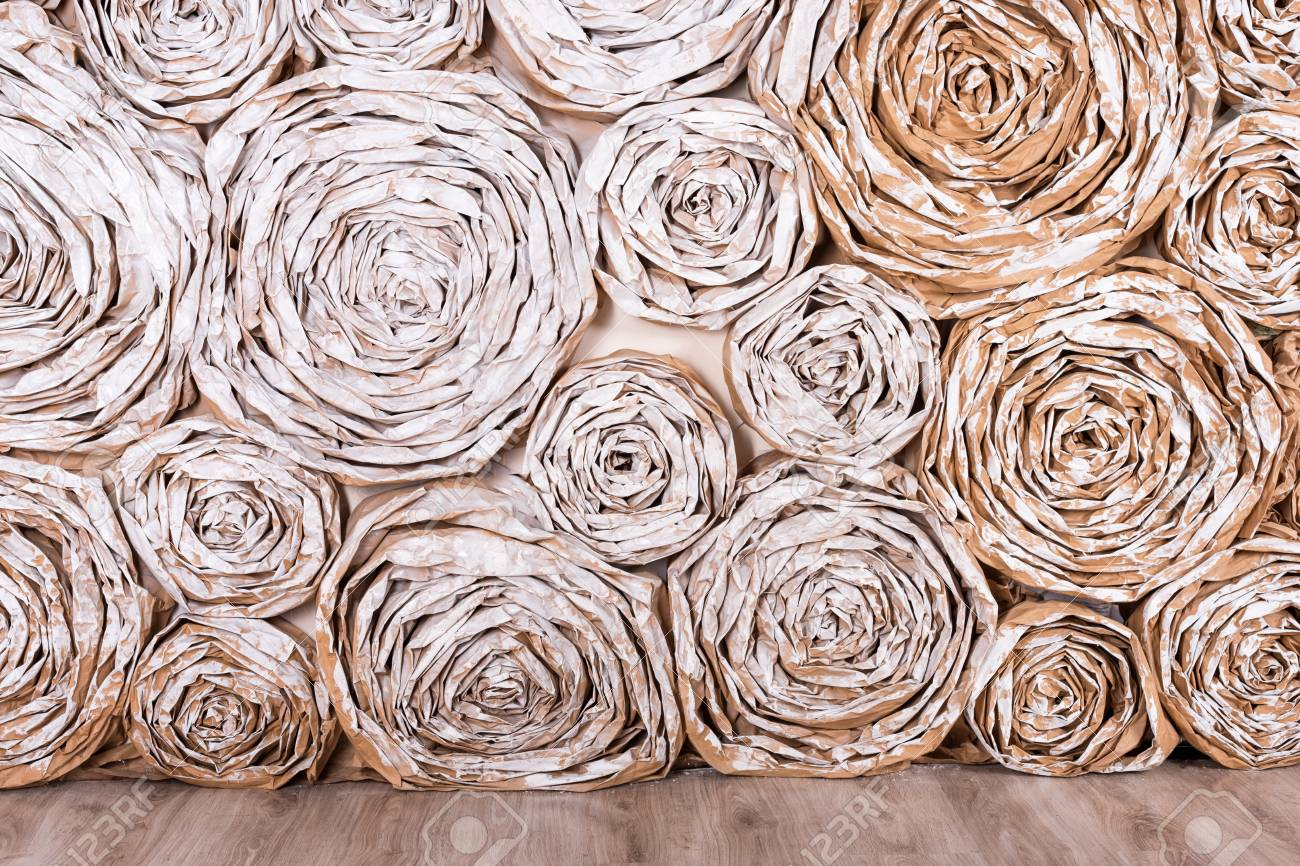 Wall with paper flowers handmade craft creative abstraction stock stock photo wall with paper flowers handmade craft creative abstraction background mightylinksfo