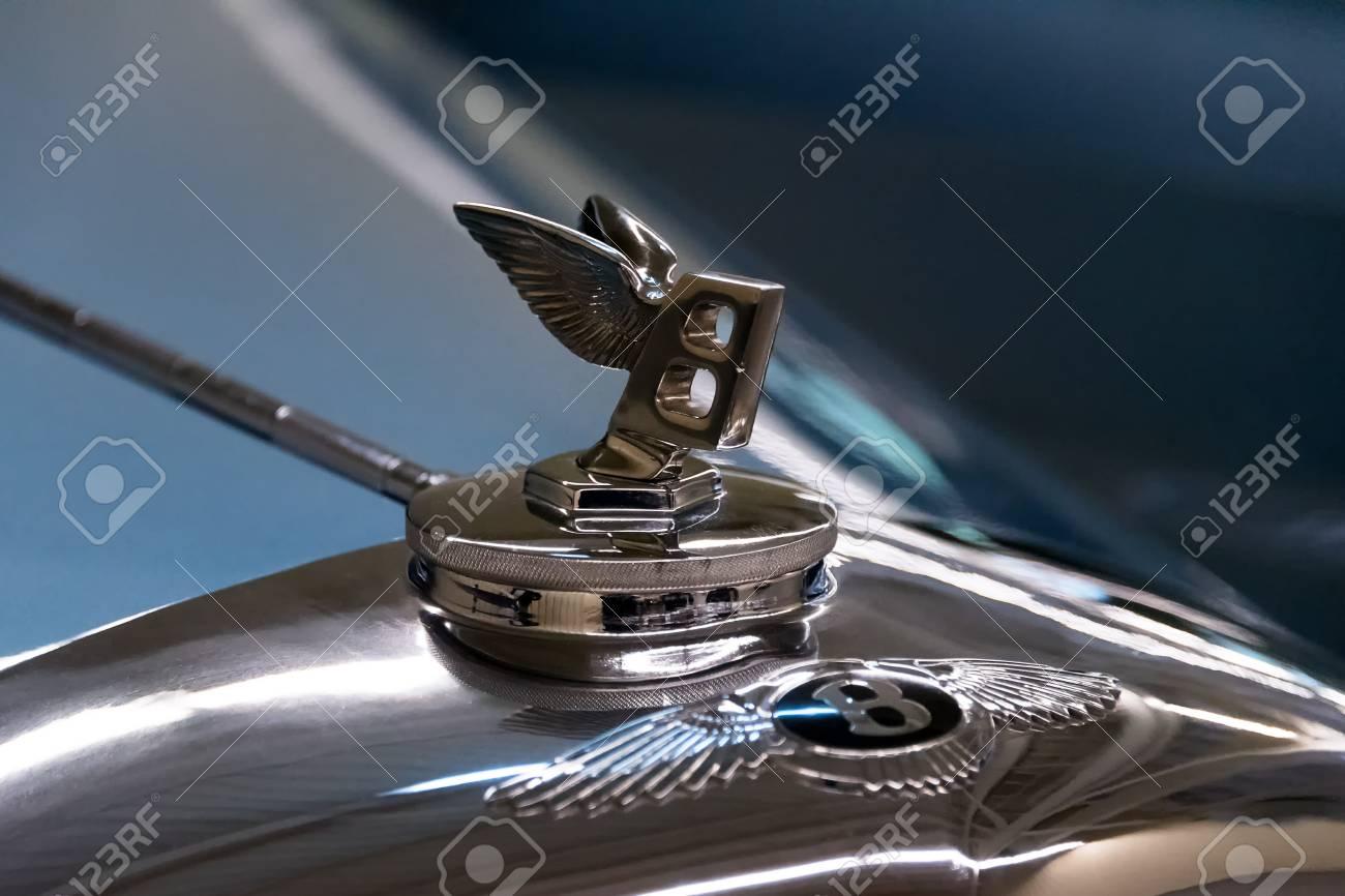 Novi Petrivtsi Ukraine April 2017 Bentley Logo Vintage Vehicle Stock Photo Picture And Royalty Free Image Image 78215458