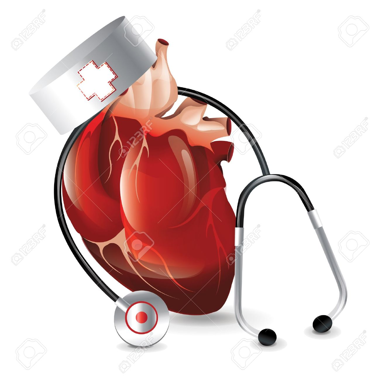 realistic heart doctor royalty free cliparts vectors and stock rh 123rf com Woman Doctor Clip Art Vintage Heart Clip Art