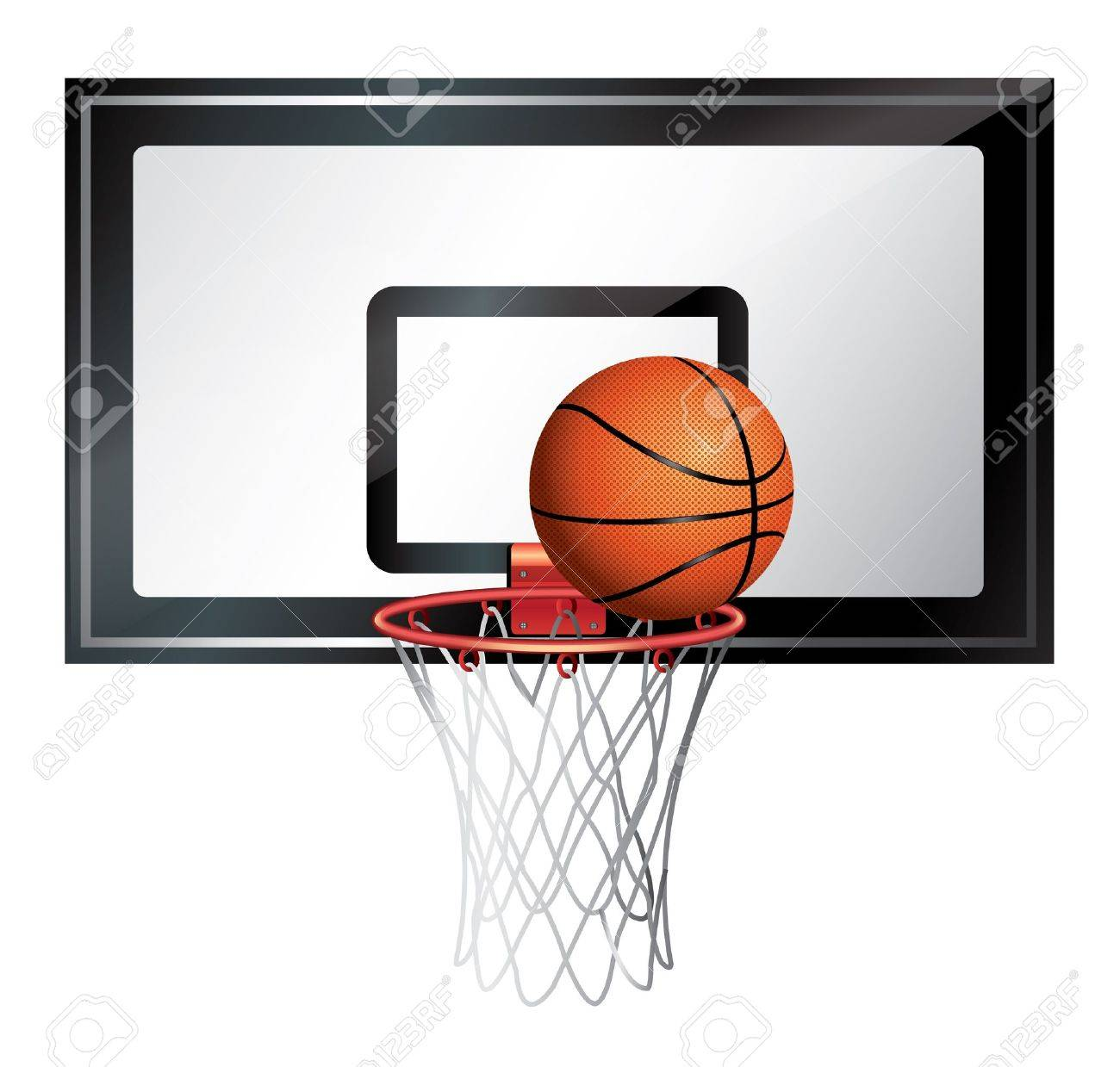 Basketball Net Stock Vector - 20747061