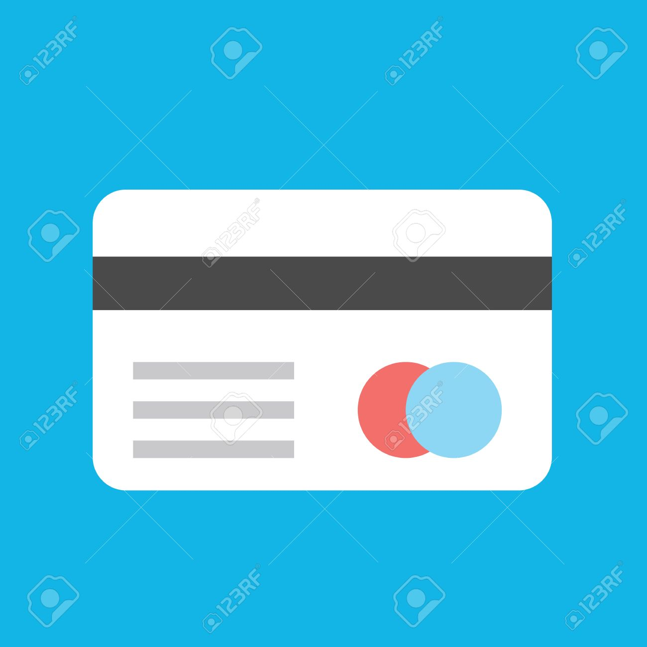 Vector Credit Card Icon Royalty Free Cliparts, Vectors, And Stock ...