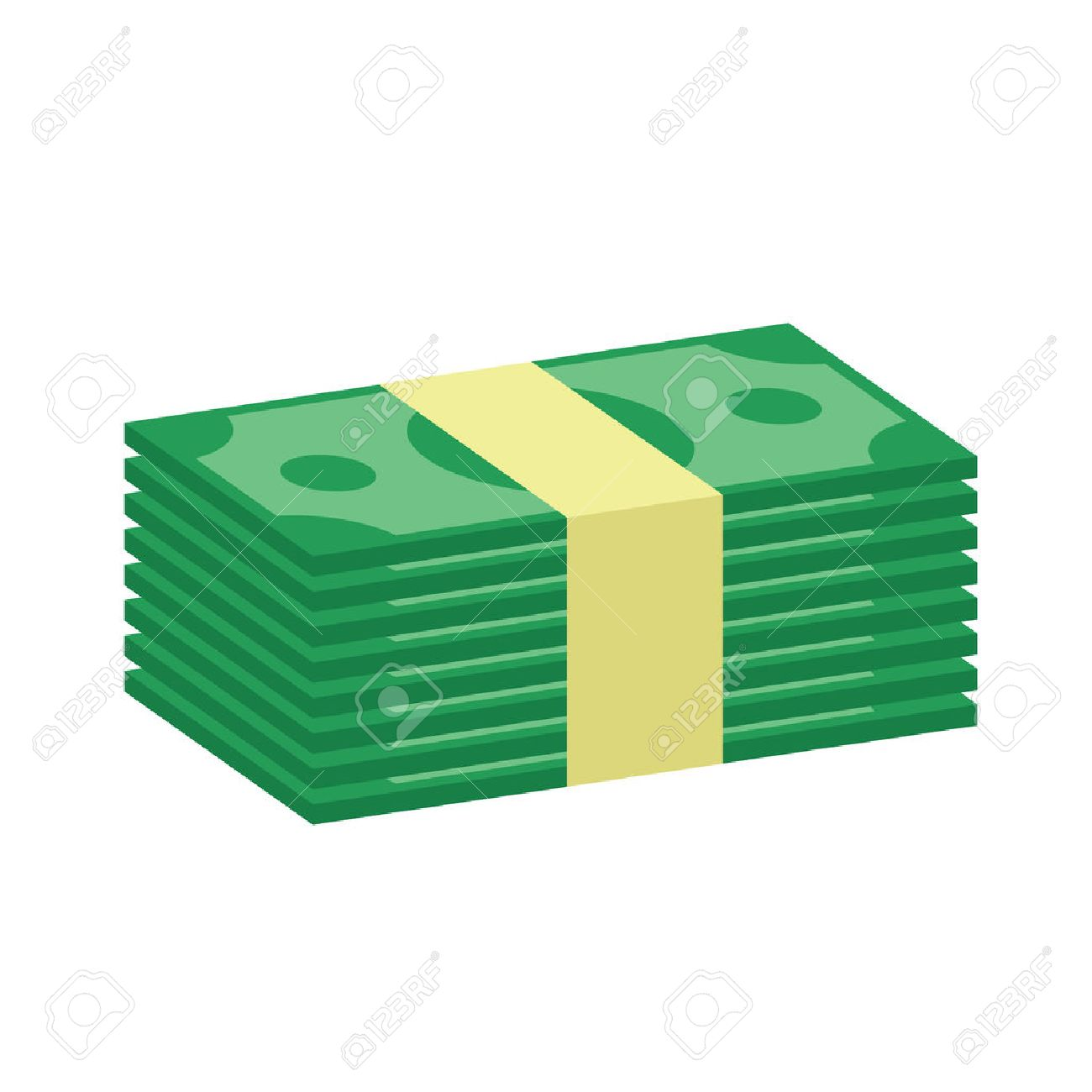 stack of money icon royalty free cliparts vectors and stock