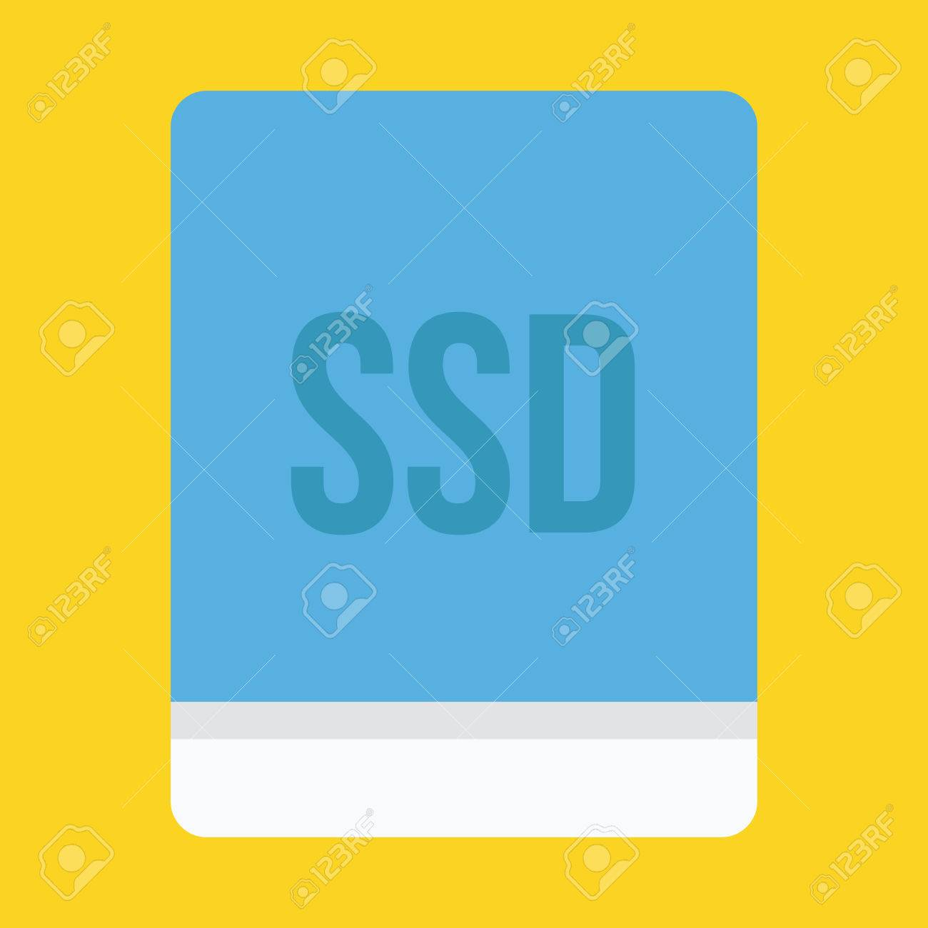 Solid State Drive Icon Stock Vector - 26454965