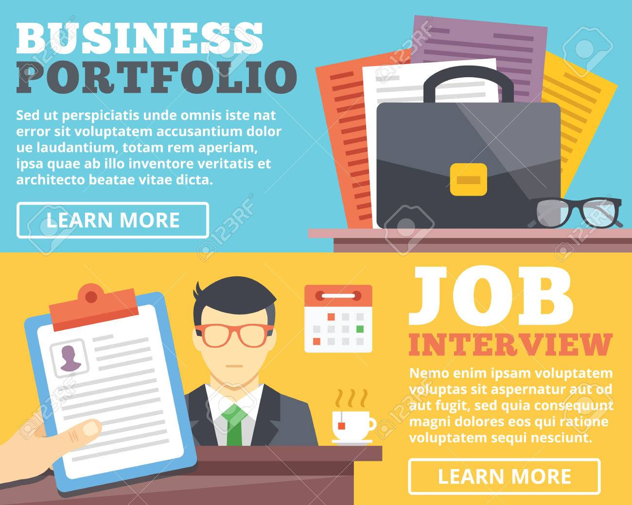 job interview portfolio